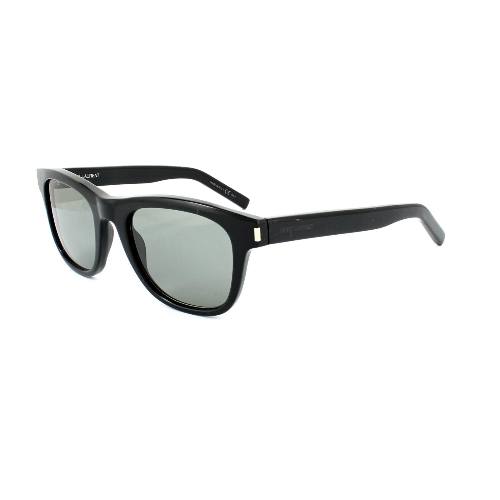 saint laurent sonnenbrille classic 2 807 5l schwarz grau. Black Bedroom Furniture Sets. Home Design Ideas