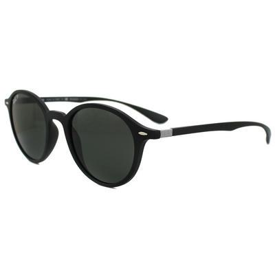 Ray-Ban Sunglasses Round Liteforce 4237 601S58 Black Green Polarized