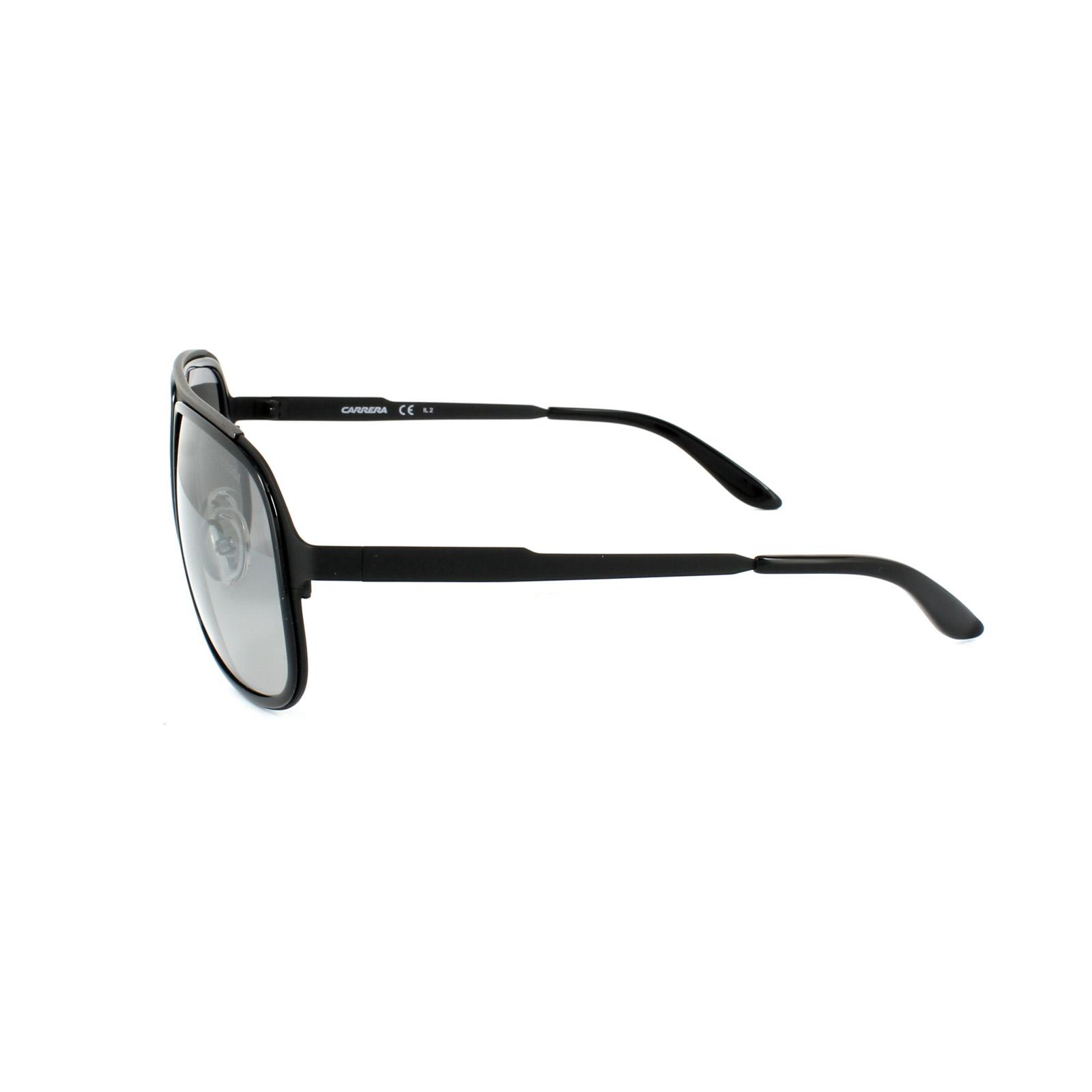 f6ff221f5461a CENTINELA Carrera gafas de Sol Carrera 101 HKQ IC rutenio brillante negro y  oscuro gris plata M