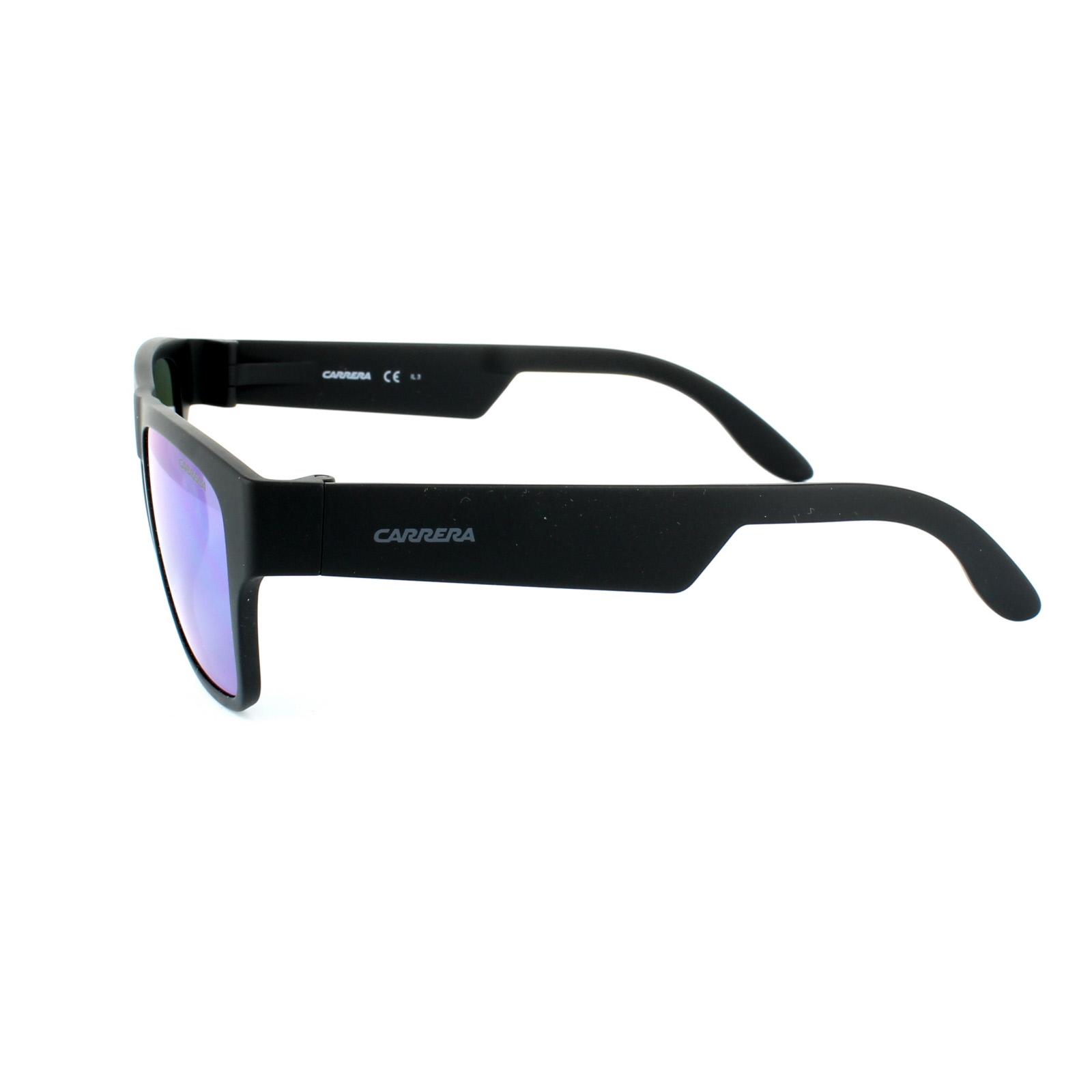 Sentinel Carrera Sunglasses Carrera 5002 ST DL5 Z9 Matt Black Green Mirror 4fb3ef7a5ae3