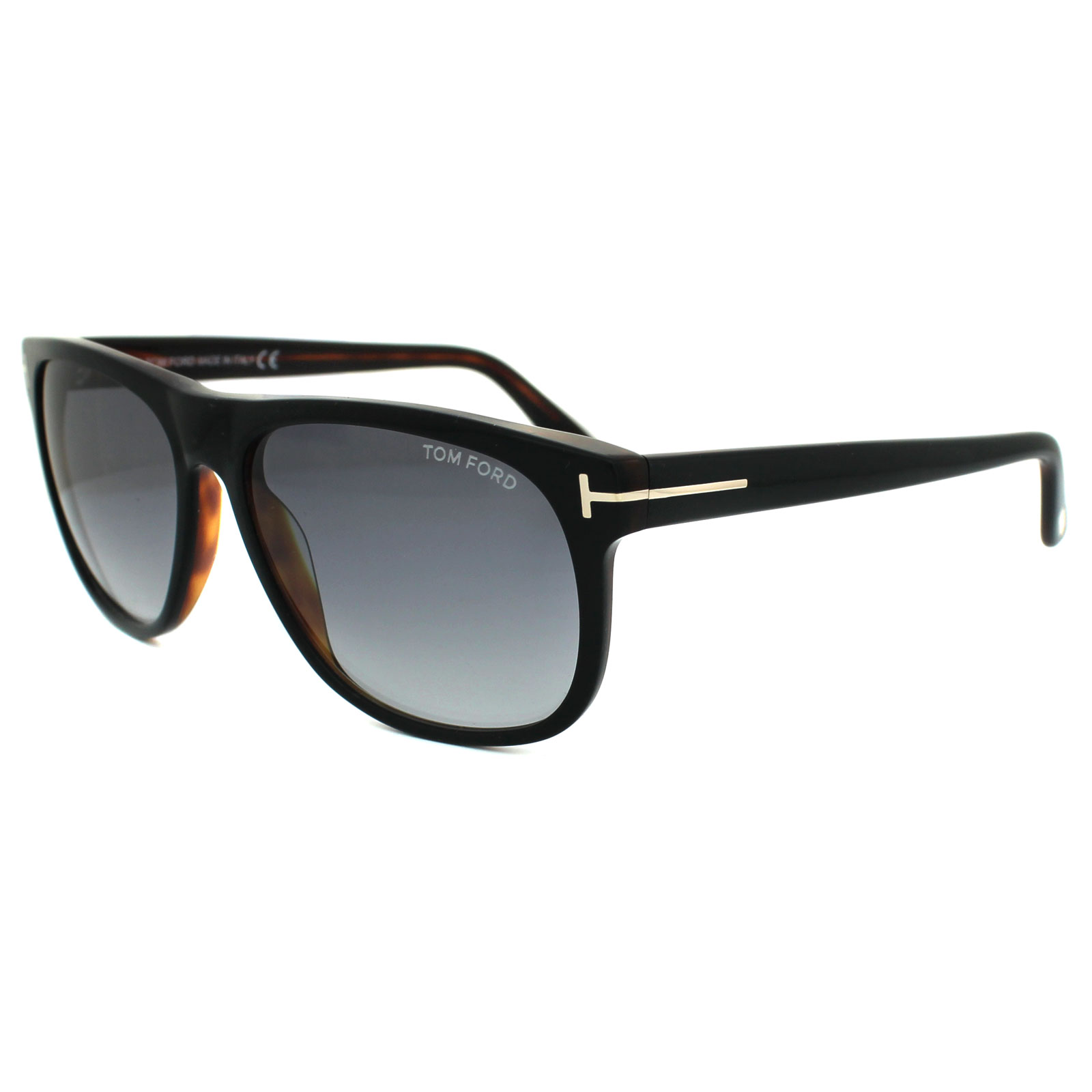 408b73ca5a79 Sentinel Tom Ford Sunglasses 0236 Olivier 05B Black   Brown Smoke Grey  Gradient