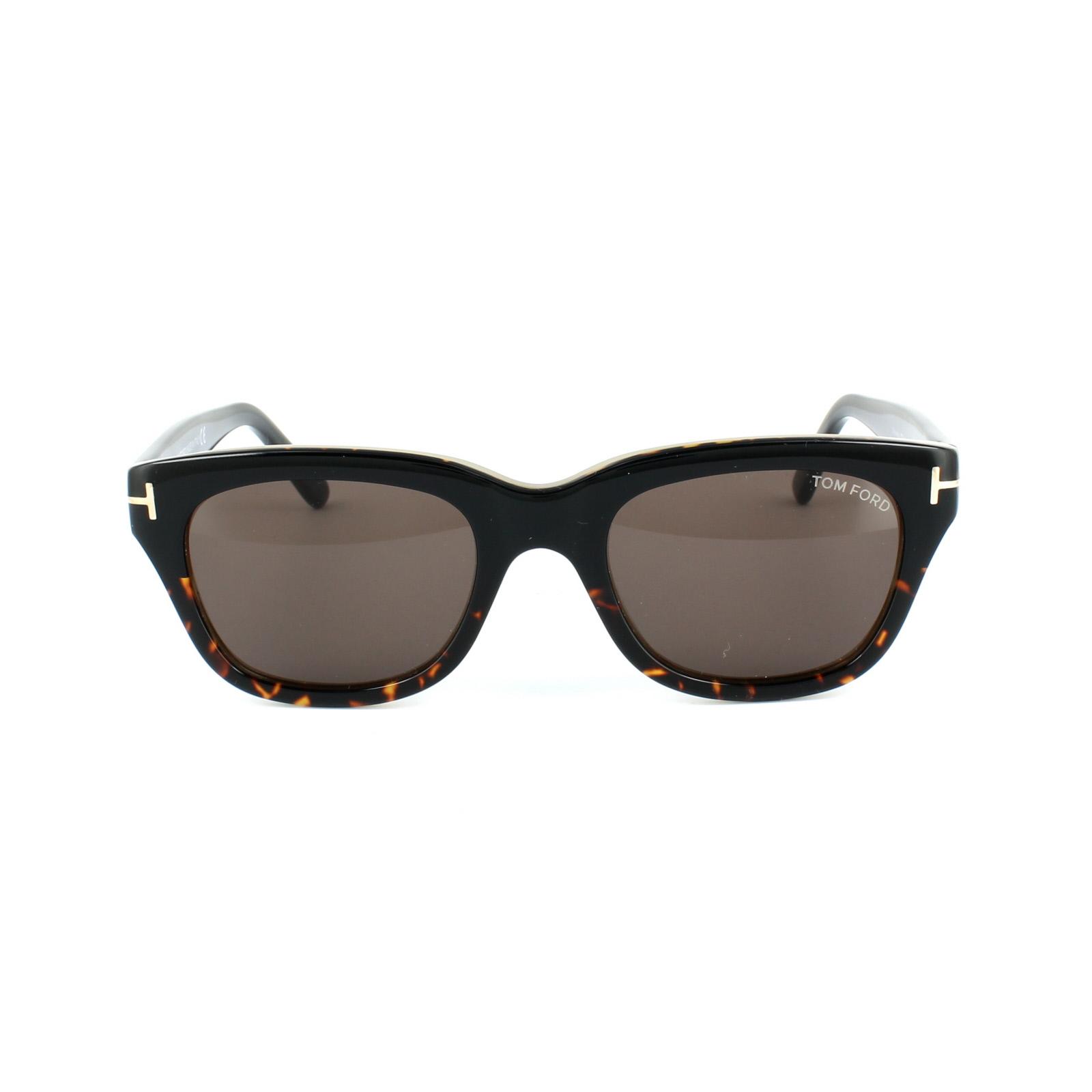 c97ba942ce Sentinel Tom Ford Sunglasses 0237 Snowdon 05J Black   Havana Roviex Grey  Brown 52mm
