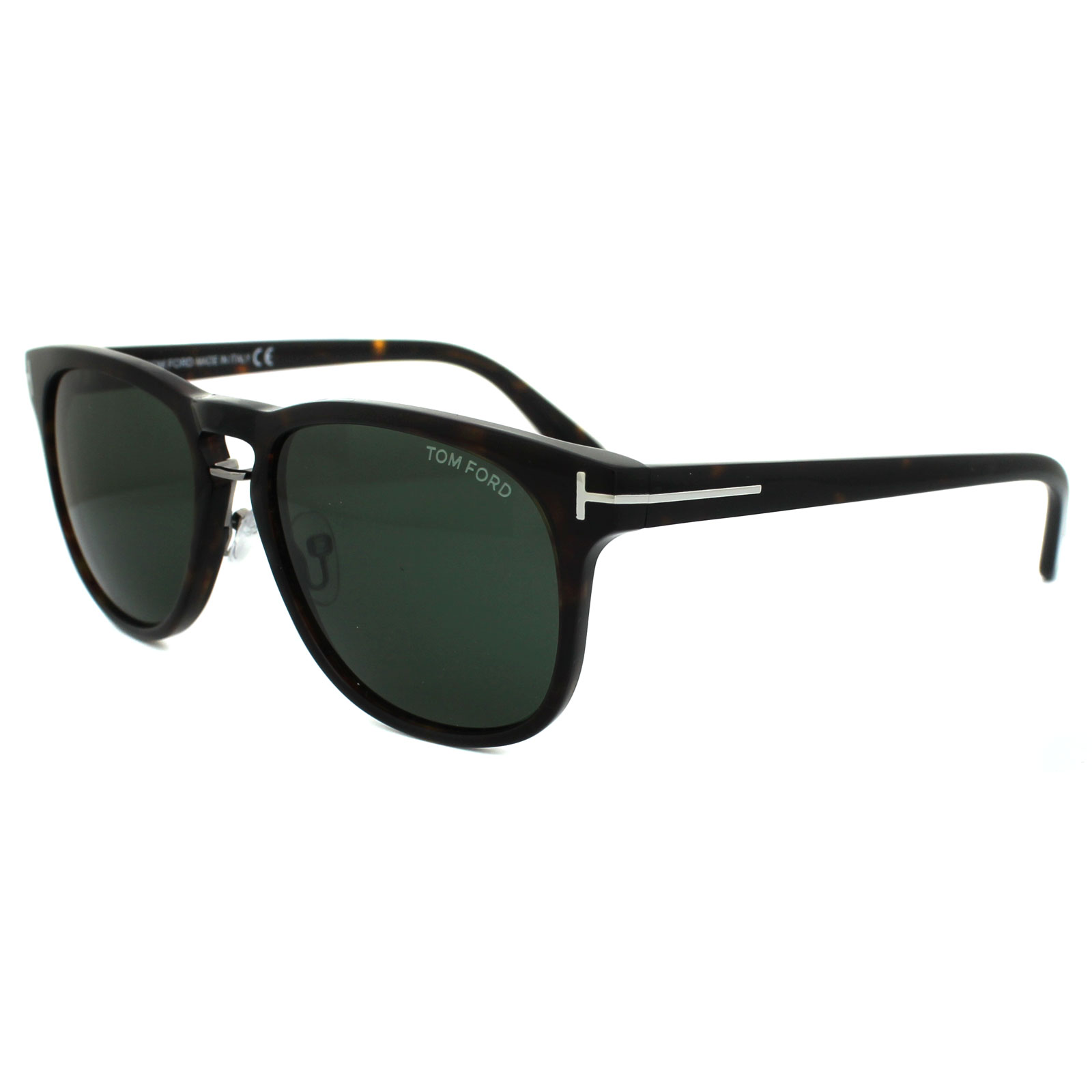 c3b2c3e97fd Details about Tom Ford Sunglasses 0346 Franklin 56N Havana Green