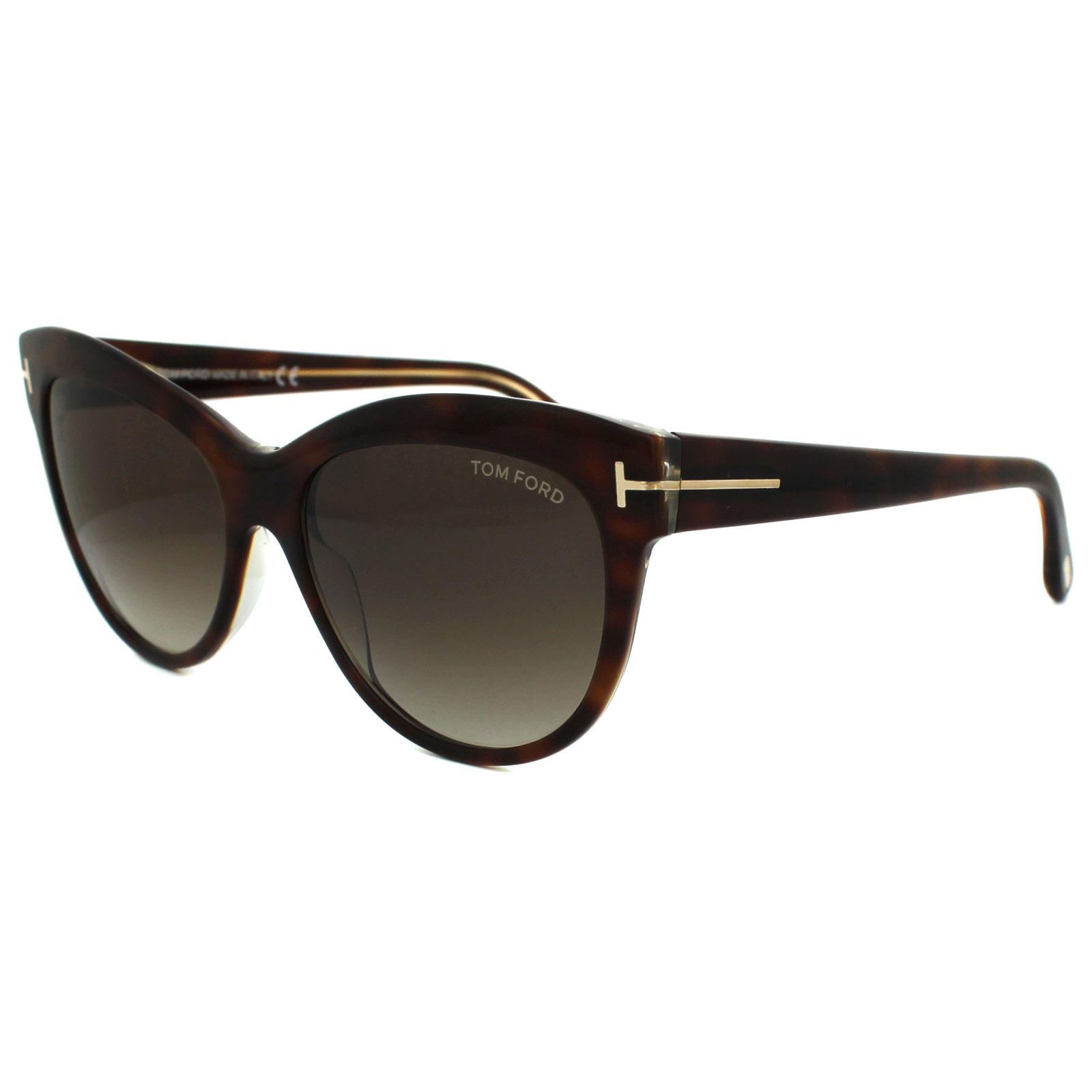 02ce787cff3d Tom Ford Sunglasses 0430 Lily 56F Havana Brown Gradient 664689717736 ...