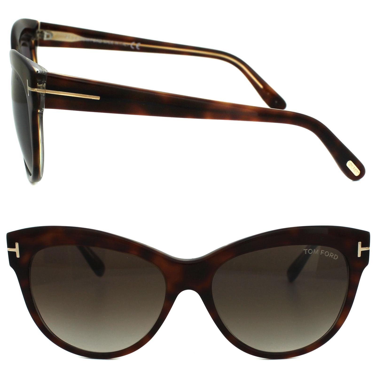 Tom Ford Damen Sonnenbrille »Lily FT0430«, braun, 56F - havana/braun