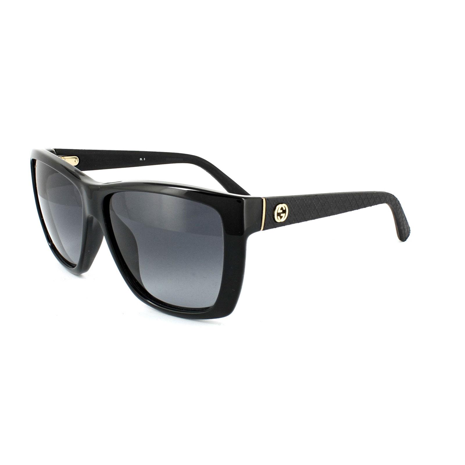 Gucci Gafas de sol 3716 INA HD Negras Grises Degradadas   eBay