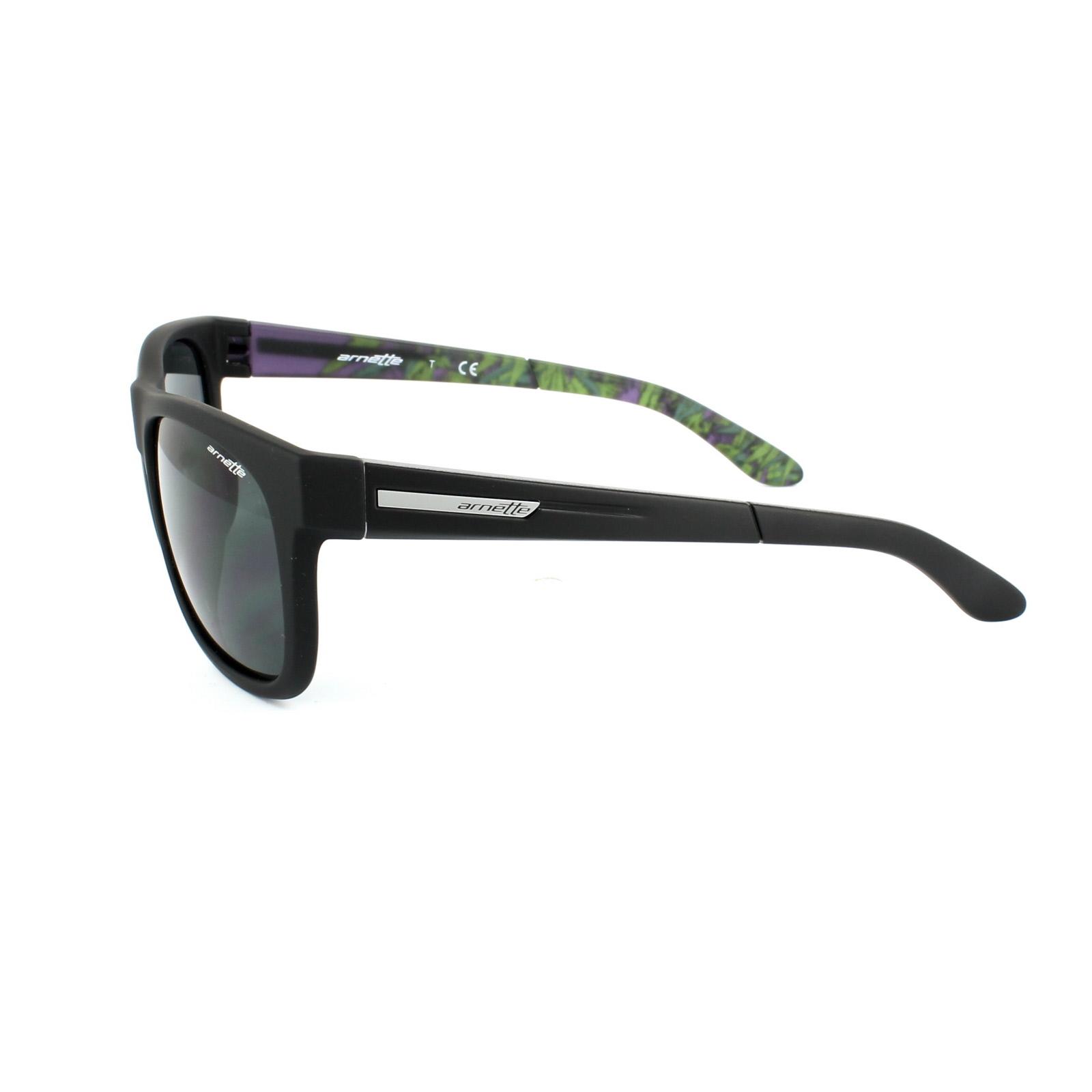 ed1f309dd0 Details about Arnette Sunglasses 4206 Fire Drill Lite 228687 Fuzzy Black  Grey