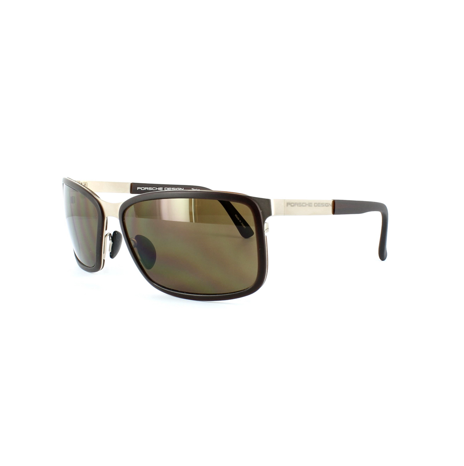 03145aa98bc Sentinel Porsche Design Sunglasses P8552 C Gold   Brown Brown