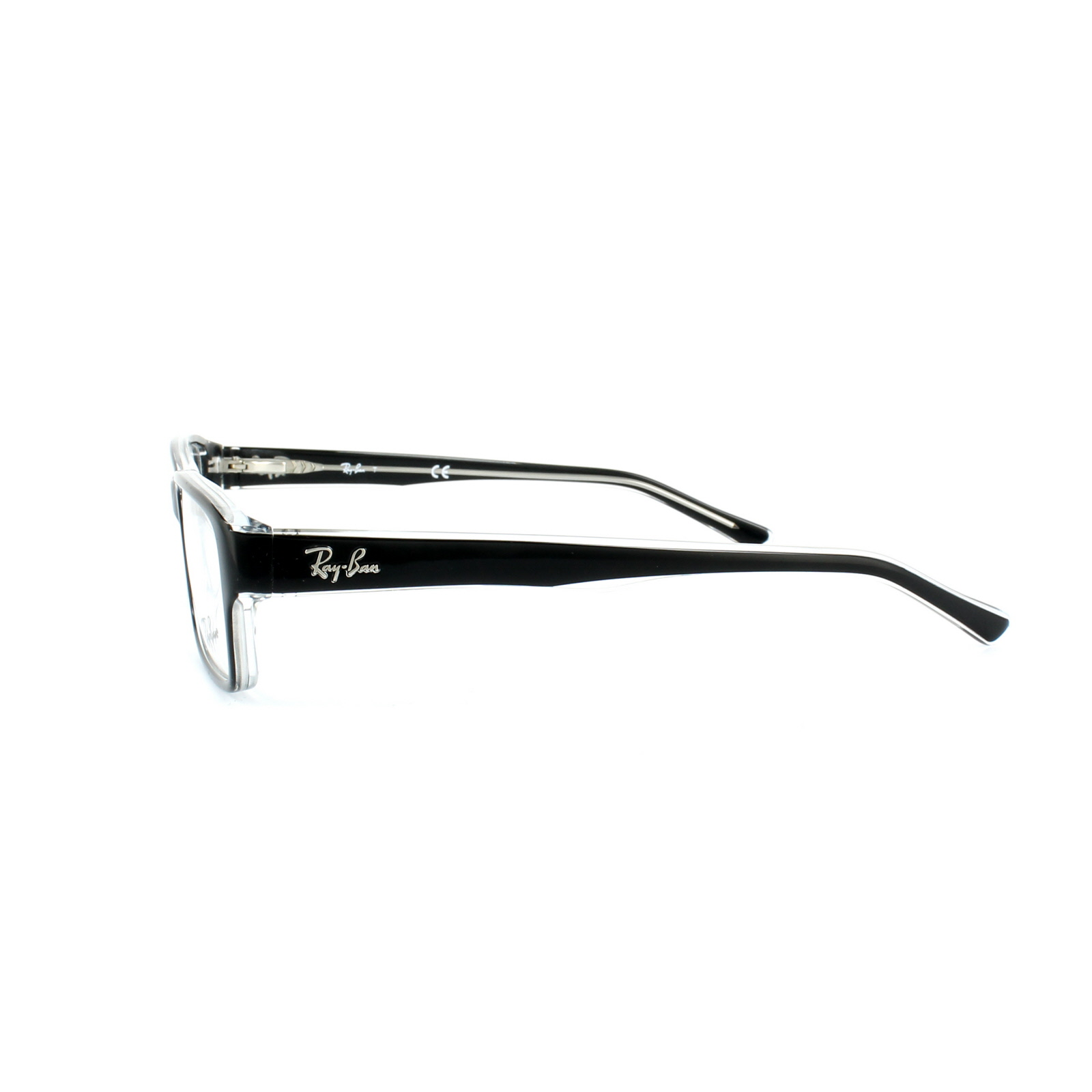 2e84cd3aa0 Details about Ray-Ban Glasses Frames 5169 2034 Top Black On Transparent 54mm