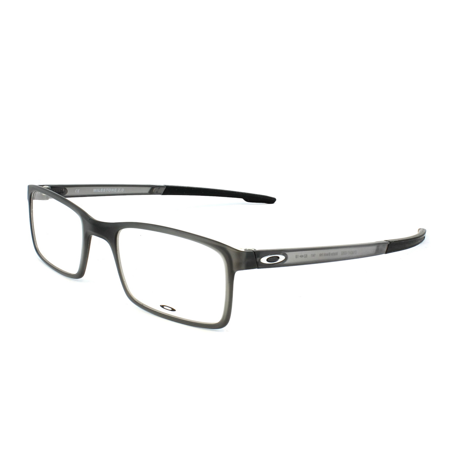 91956381347 Sentinel Oakley Glasses Frames Milestone 2.0 OX8047-02 Matt Black Ink