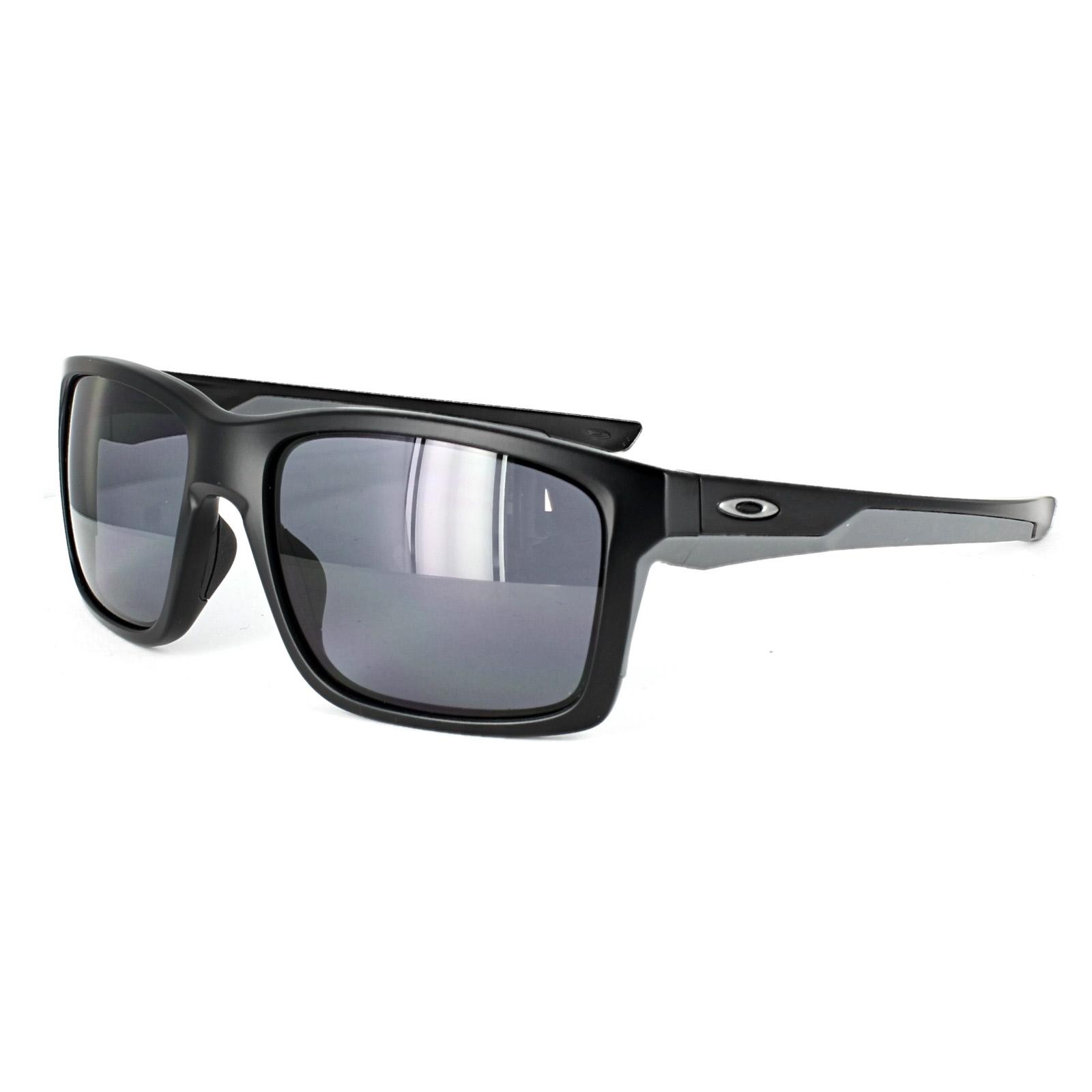 c7f0eec586e46 Sentinel Oakley Sunglasses Mainlink OO9264-01 Matt Black Grey