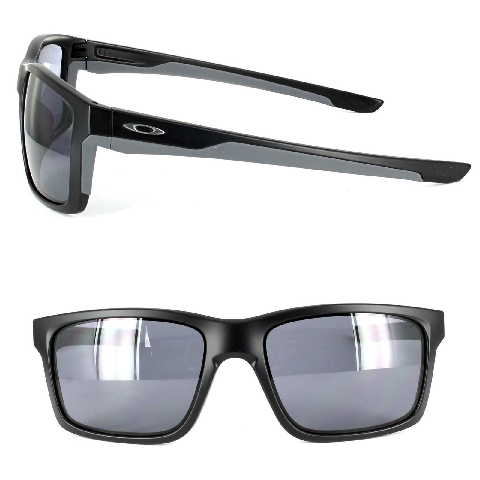 de36a95030 Sentinel Oakley Sunglasses Mainlink OO9264-01 Matt Black Grey