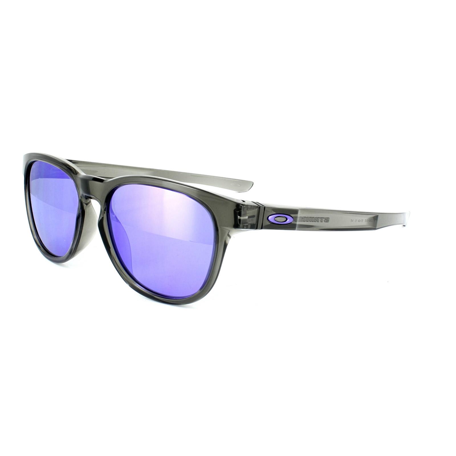 Oakley Sonnenbrille Stringer Violet Iridium Gray Smoke 8idBscYsP