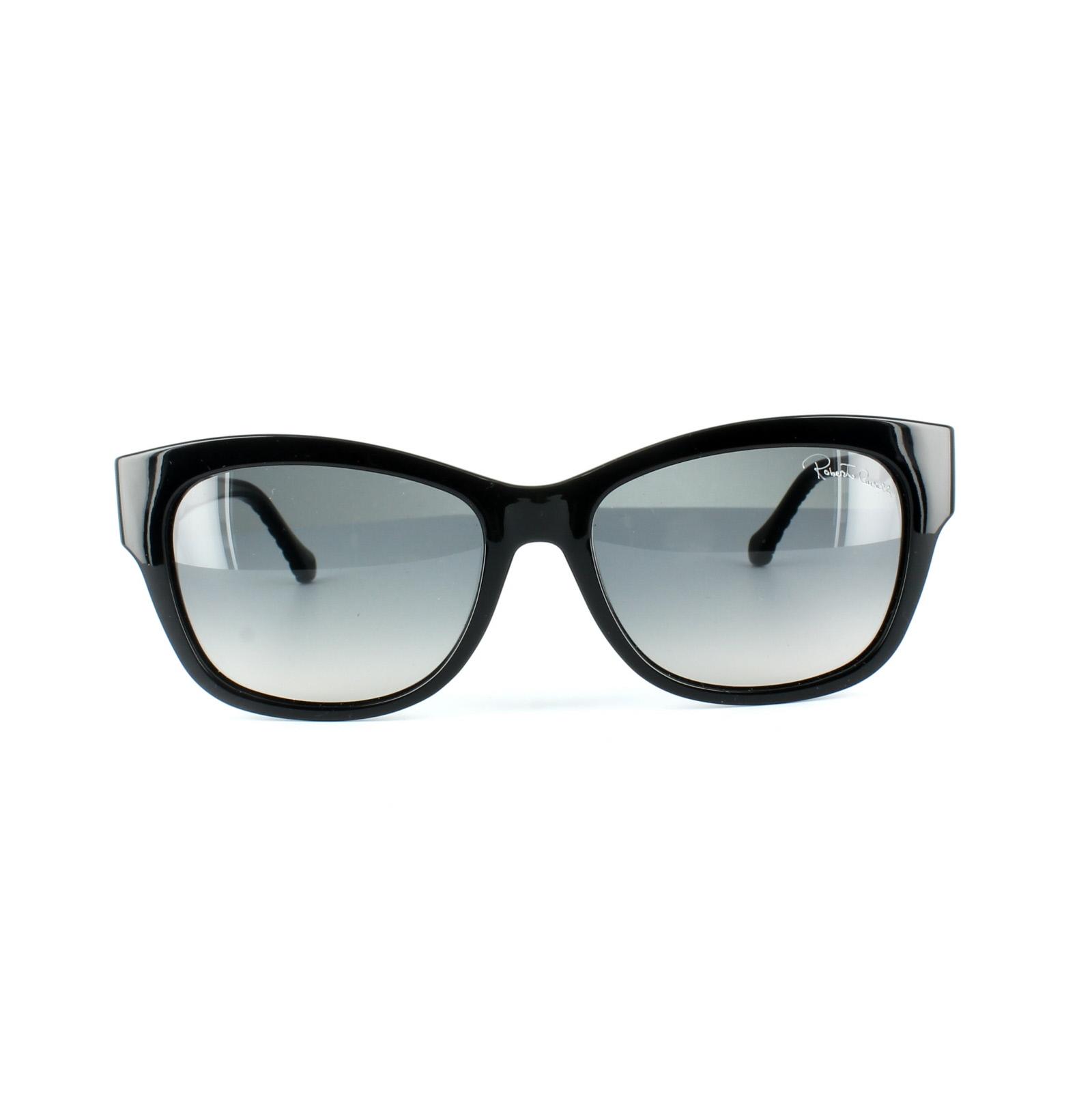 f2149edb12 CENTINELA Roberto Cavalli gafas de sol 01B Acamar 785 degradado brillante  negro gris