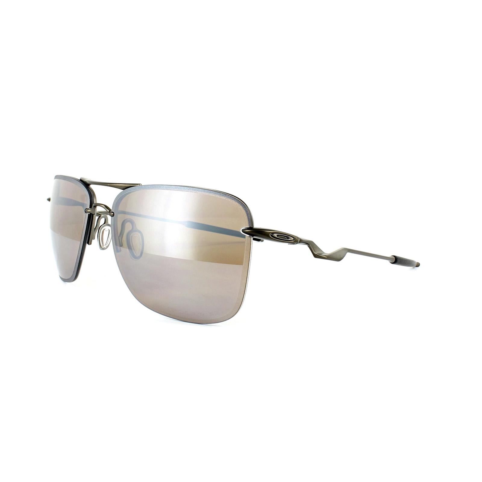 e993be7067 Oakley Sunglasses Tailhook OO408707 Titanium Titanium Iridium ...