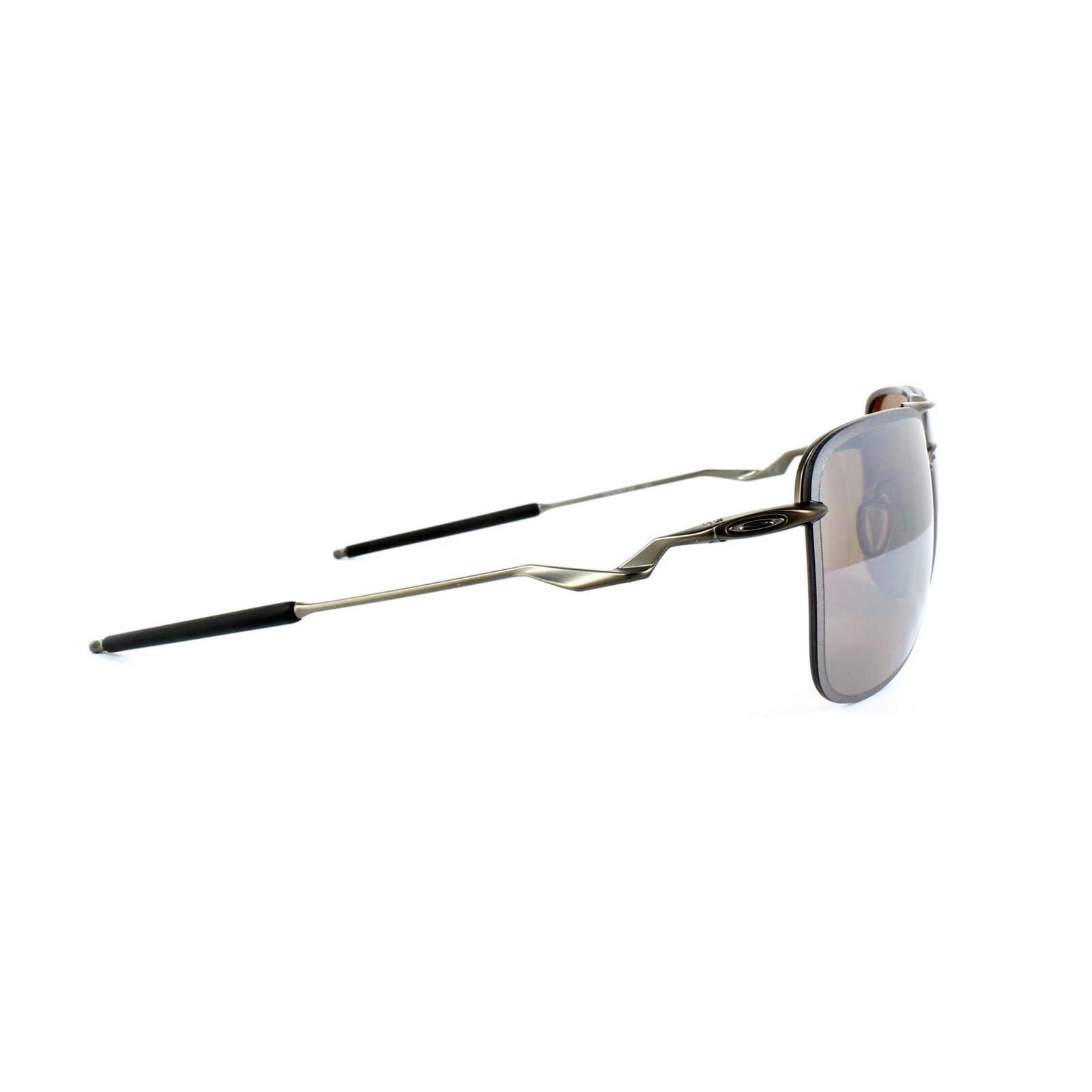 bfd4584280 Sentinel Oakley Sunglasses Tailhook OO408707 Titanium Titanium Iridium  Polarized
