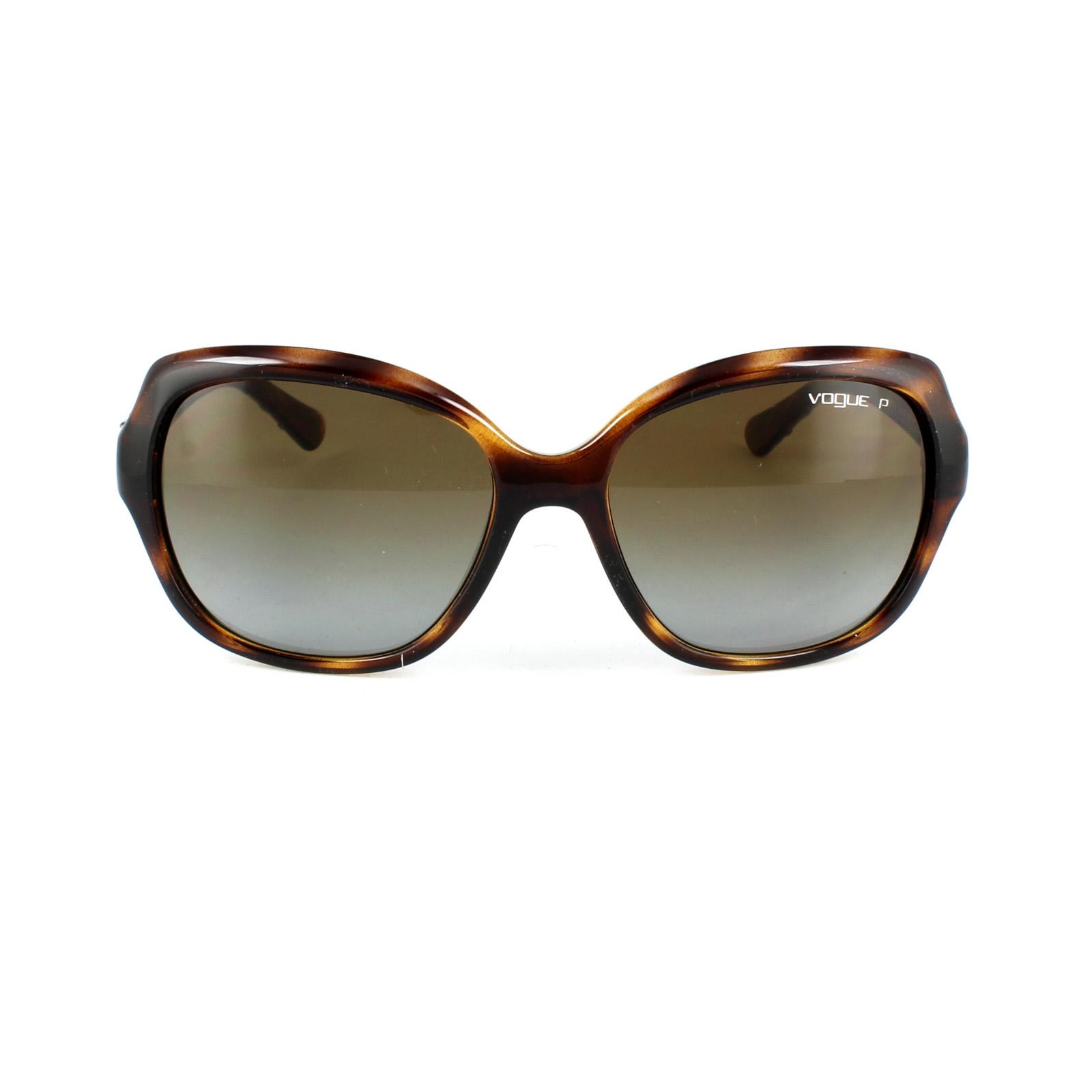 07ceff8cd8 Sentinel Vogue Sunglasses 2871S 1508T5 Dark Havana Brown Gradient Polarized
