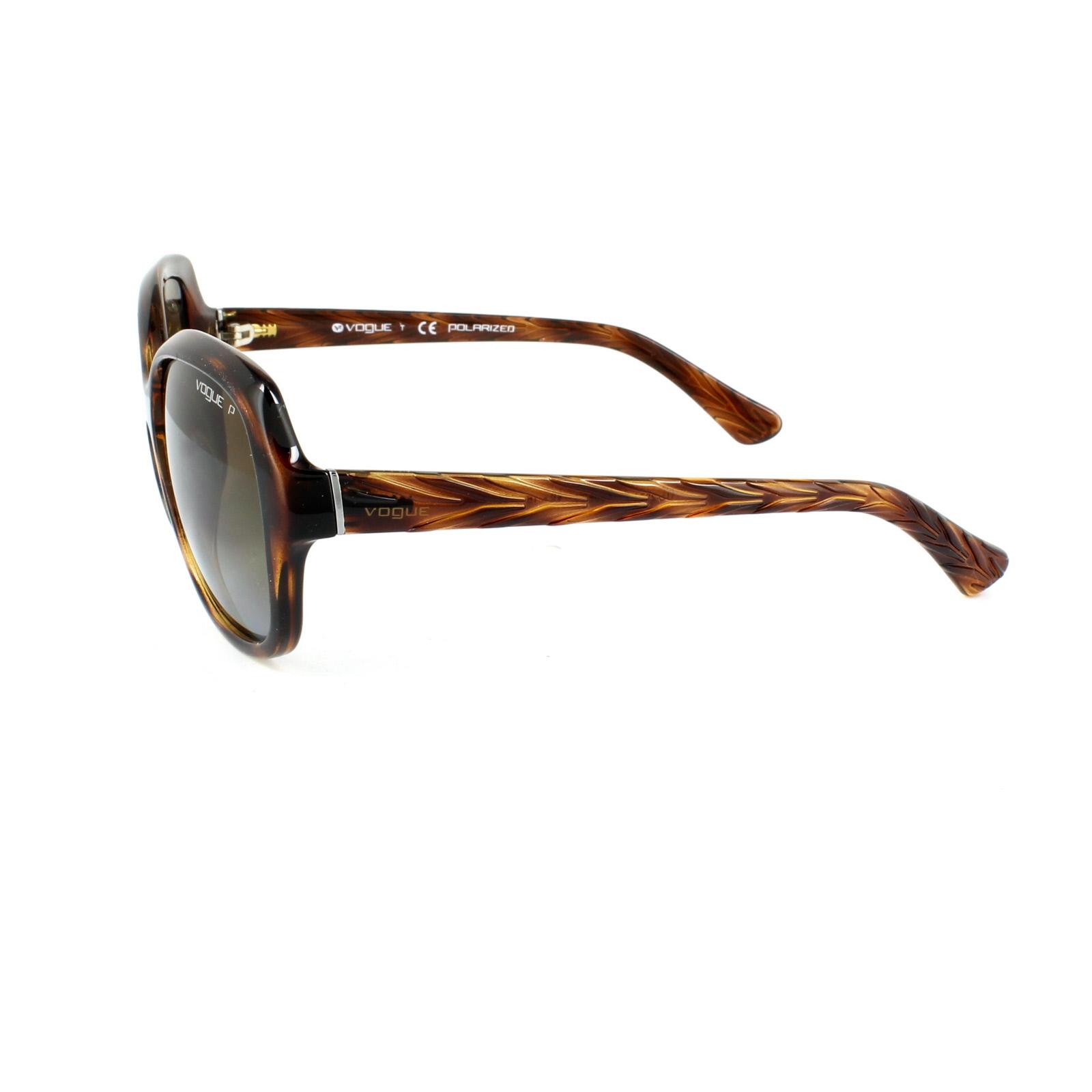 2c4c7a006fdf2 Sentinel Vogue Sunglasses 2871S 1508T5 Dark Havana Brown Gradient Polarized