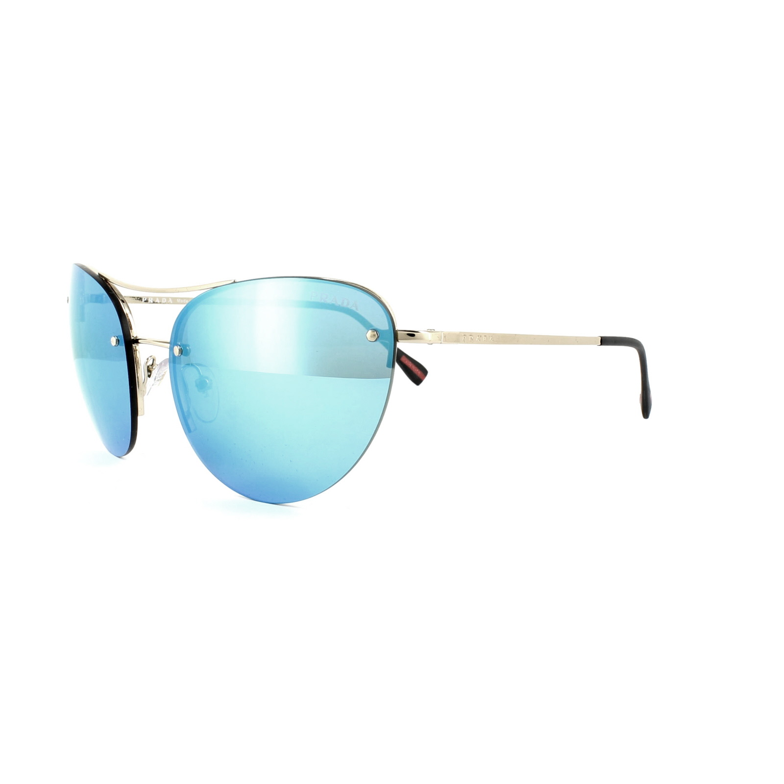 36edd813e5f0 czech prada blue mirror sunglasses e8584 15eb0