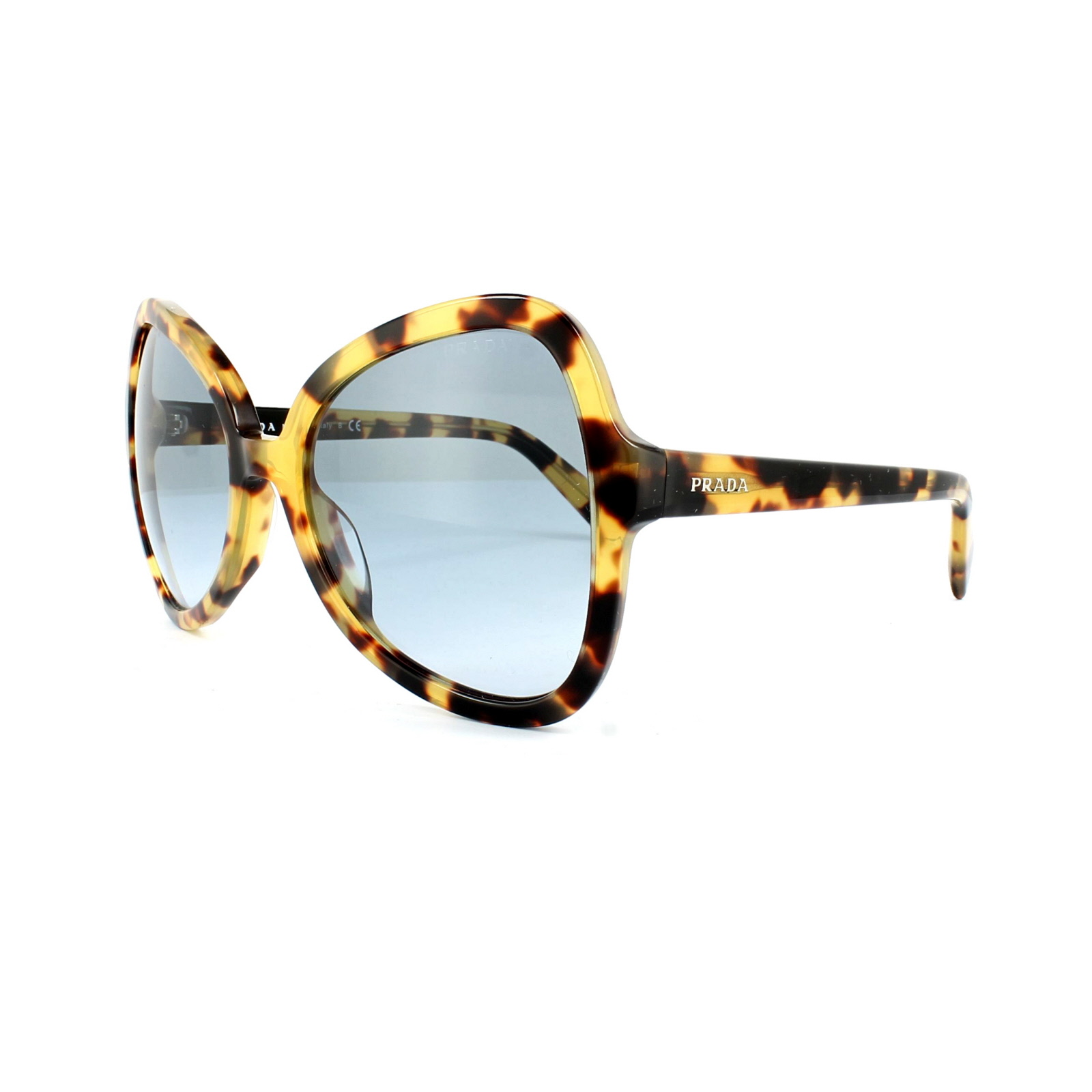 PRADA Prada Damen Sonnenbrille » PR 05SS«, braun, 7S04R2 - braun/blau