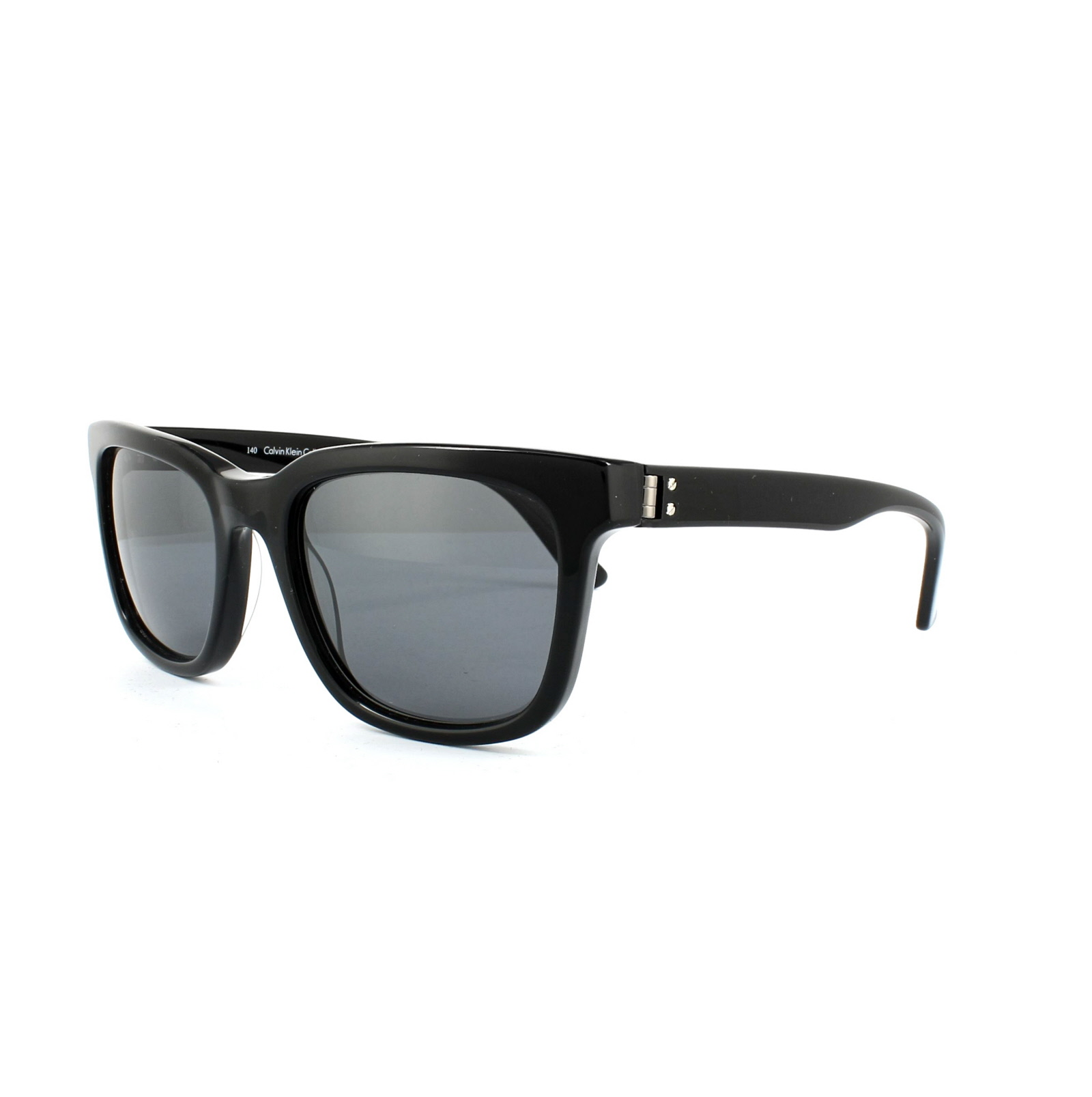 5802cc01b10 Sentinel Calvin Klein Sunglasses CK7960SP 001 Black Grey Blue Polarized