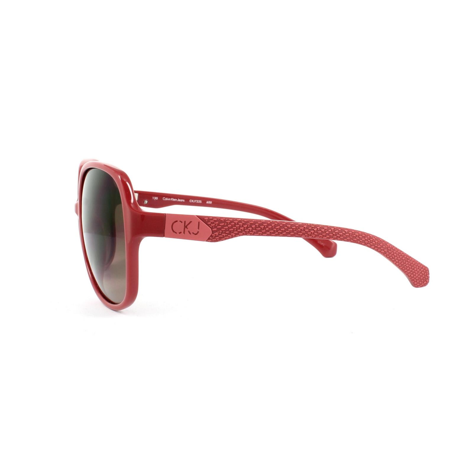 7d6b68b2f7c Sentinel Calvin Klein Jeans Sunglasses CKJ722S 600 Red Pink Gradient