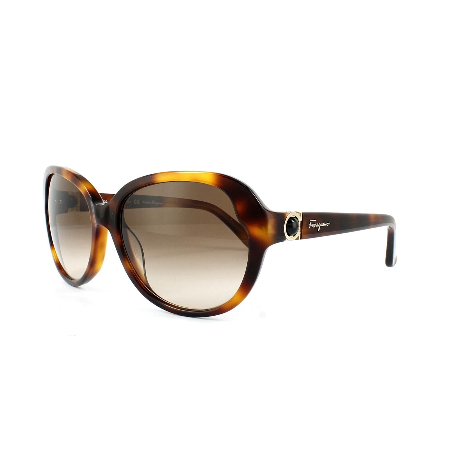 Ferragamo Sonnenbrille braun Damen E54gnFLl3e