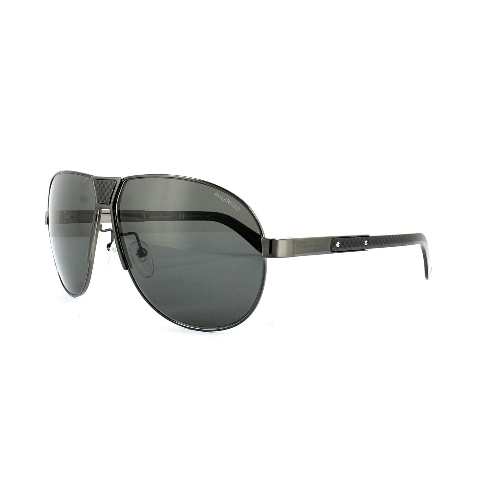SALVATORE FERRAGAMO Gafas de sol sf136sp 015 Brillante oscuro ...