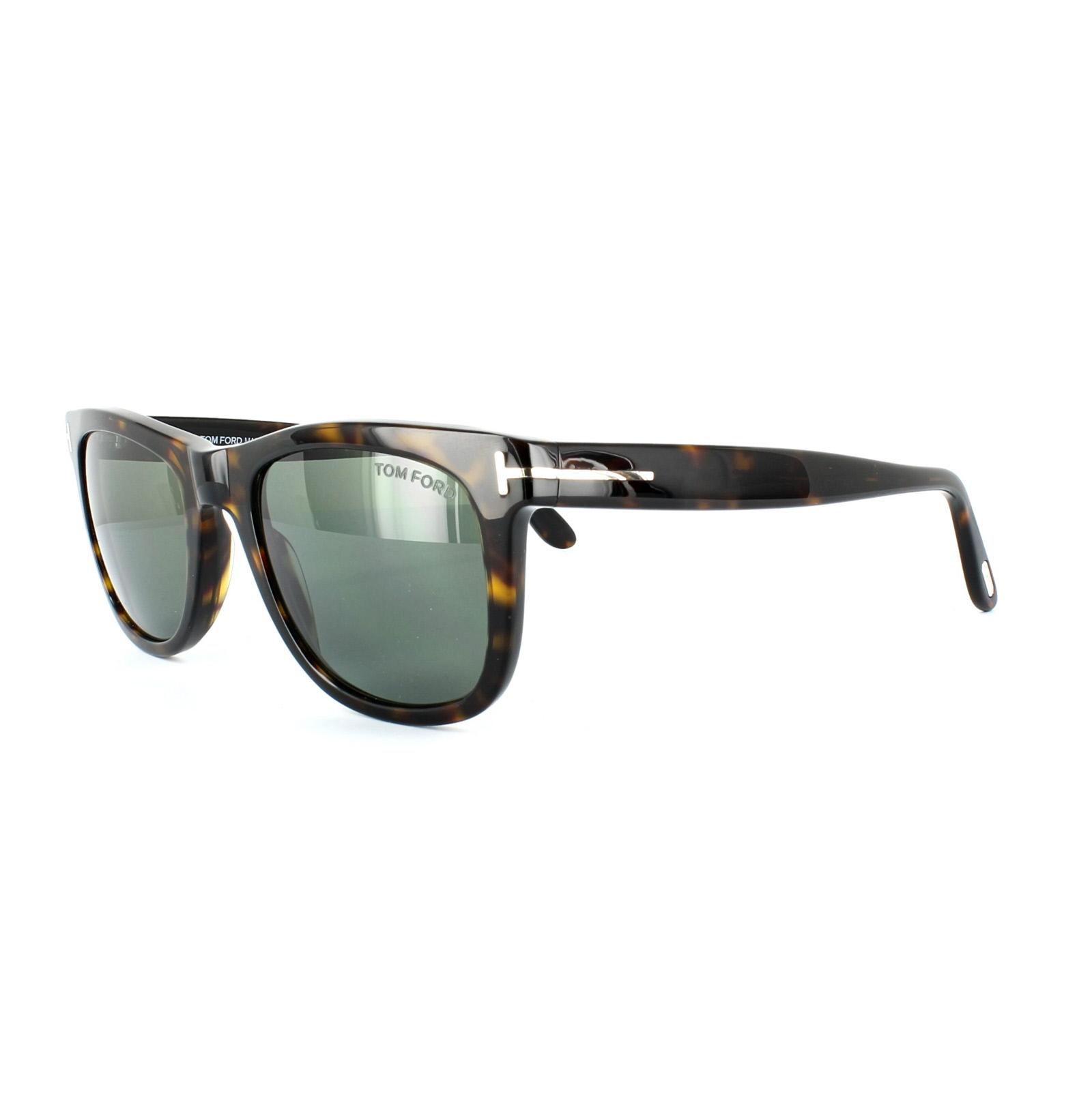 cc5ea0dfdfe Sentinel Thumbnail 1. Sentinel Tom Ford Sunglasses 0336 Leo 56R Havana  Brown Green Polarized