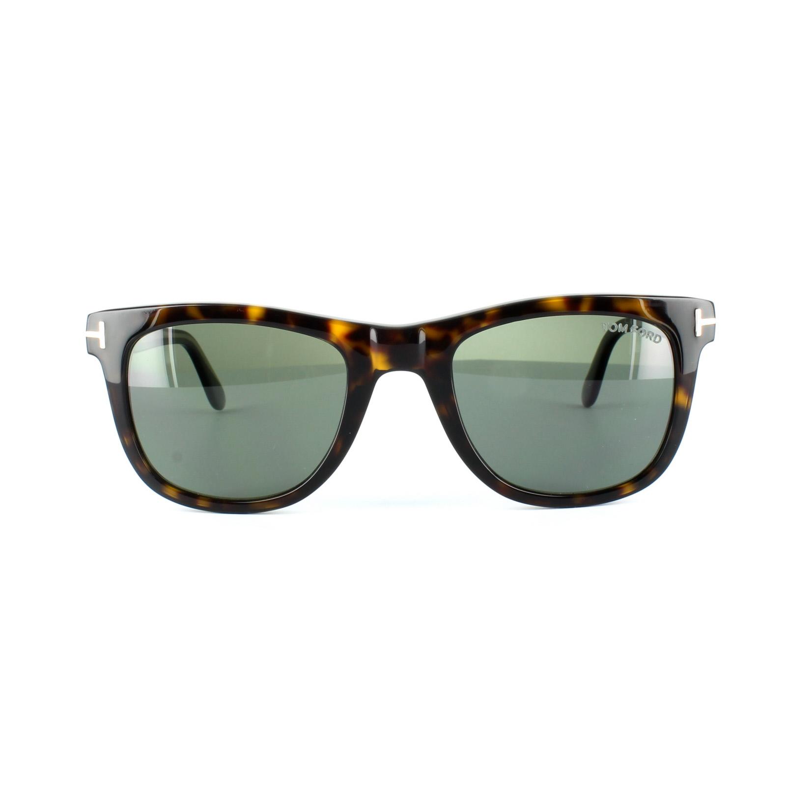 33ee8b2ed7 Sentinel Tom Ford Sunglasses 0336 Leo 56R Havana Brown Green Polarized