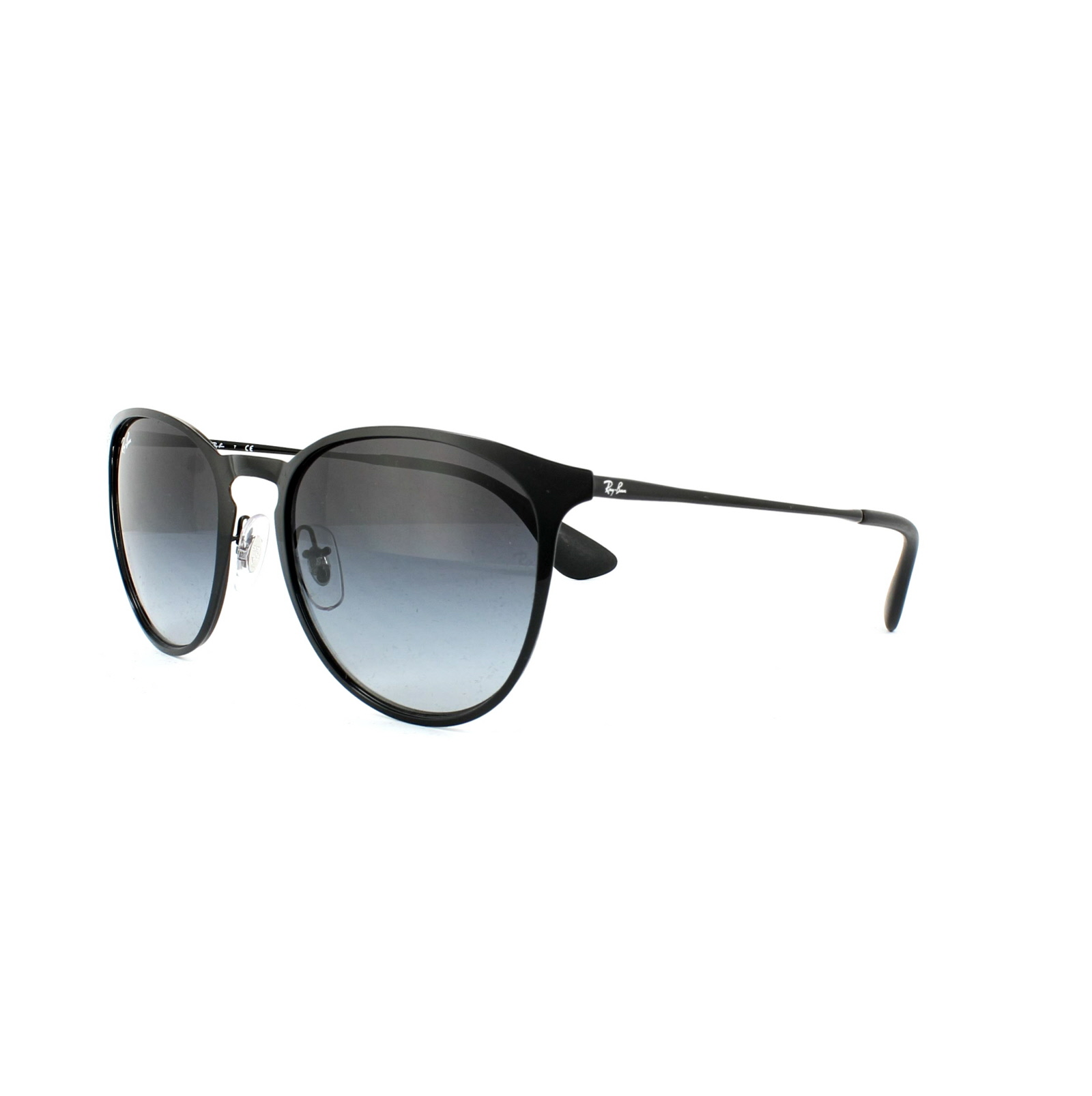 fd6ca0d9713 Sentinel Ray-Ban Sunglasses Erika Metal 3539 002 8G Black Grey Gradient