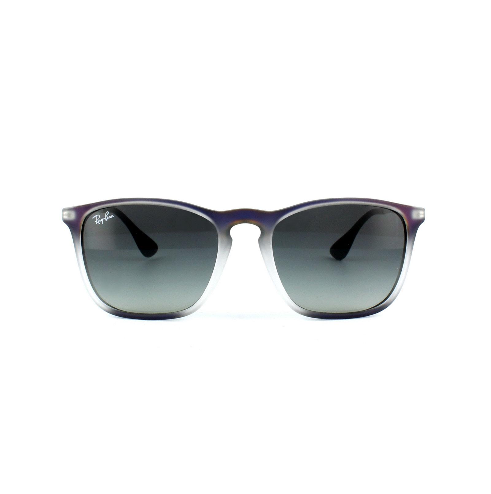 ca570a931f Sentinel Ray-Ban Sunglasses Chris 4187 622311 Violet   Grey Grey Gradient