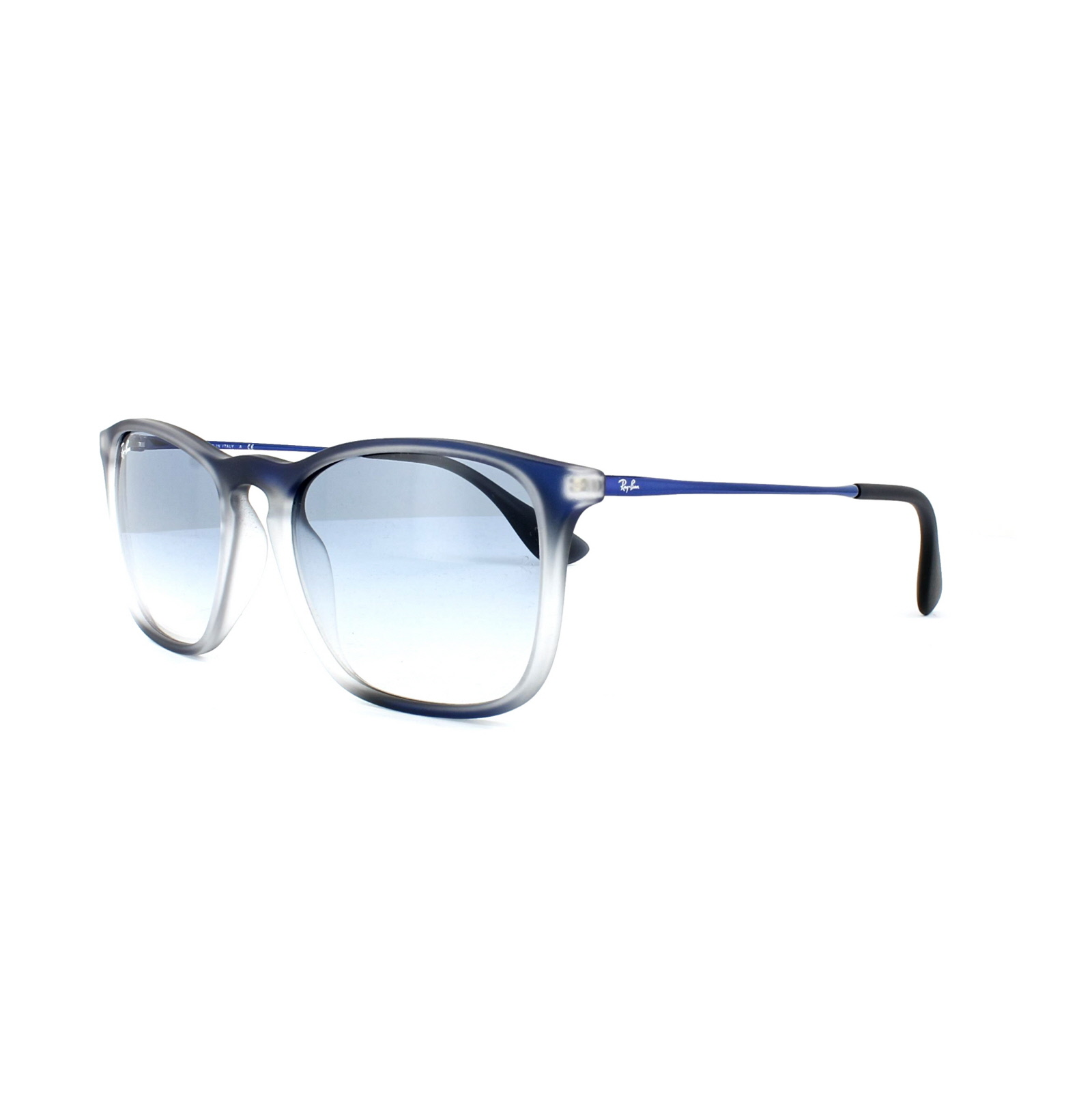 289fb39aac Sentinel Ray-Ban Sunglasses Chris 4187 622519 Blue   Grey Light Blue  Gradient