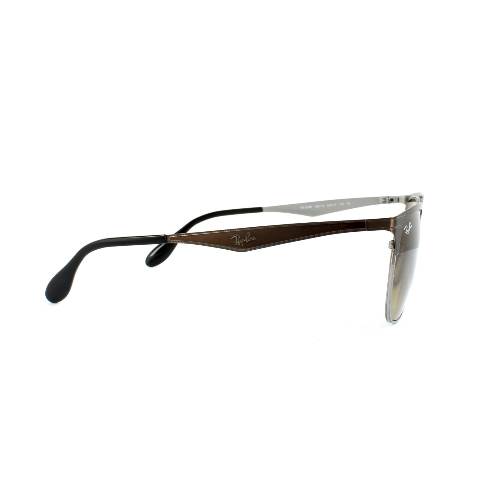 1a74f6f987 Sentinel Ray-Ban Sunglasses 3538 188 13 Brown   Gunmetal Brown Gradient