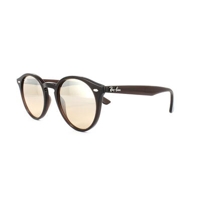 Ray-Ban Sunglasses 2180 62313D Brown Silver Brown Gradient Mirror