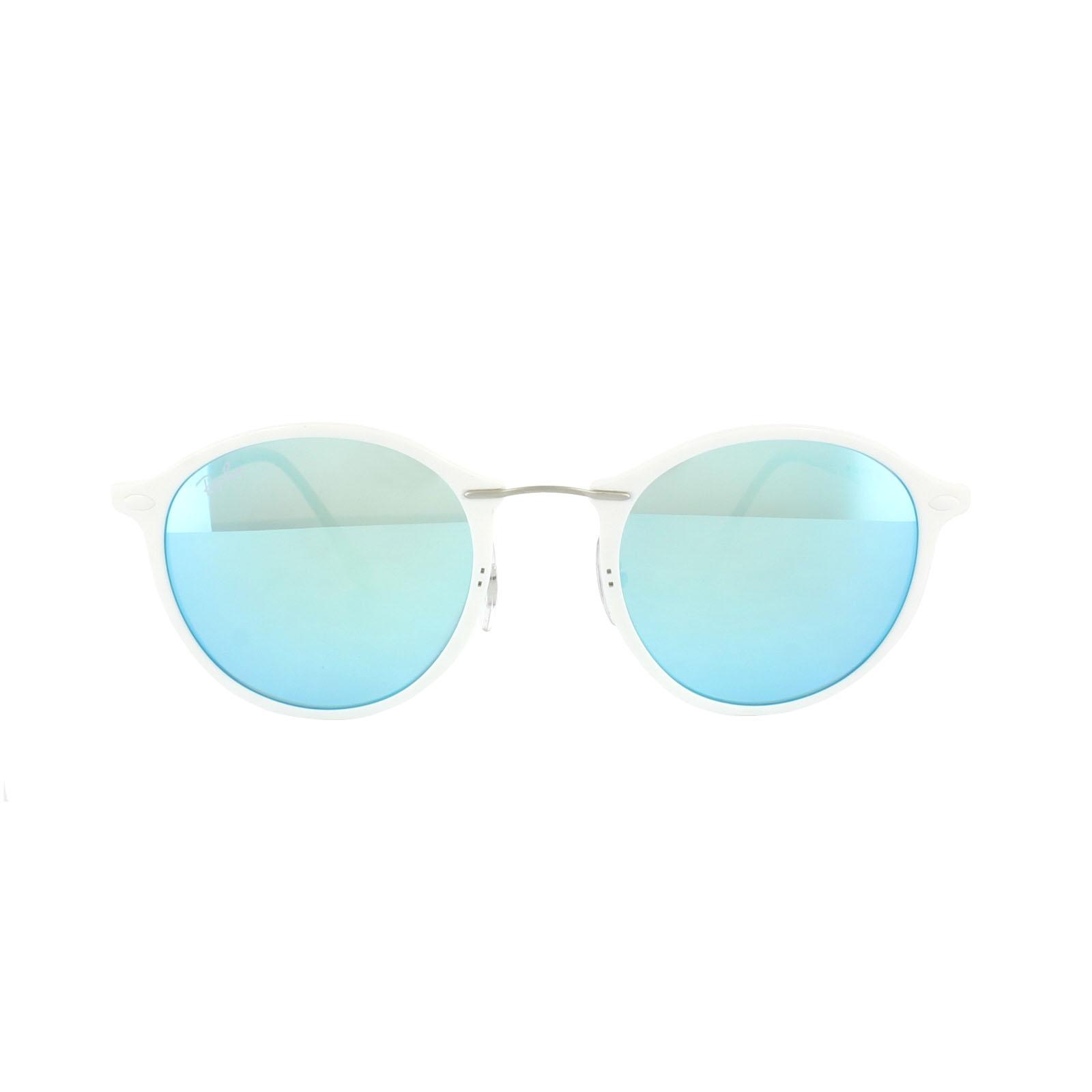 3933c6d393e Ray-Ban Sunglasses 4242 671 55 White Blue Mirror 8053672573527