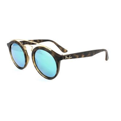 Ray-Ban Sunglasses Gatsby 4256 60923R Matt Havana Green Mirror Medium 46mm