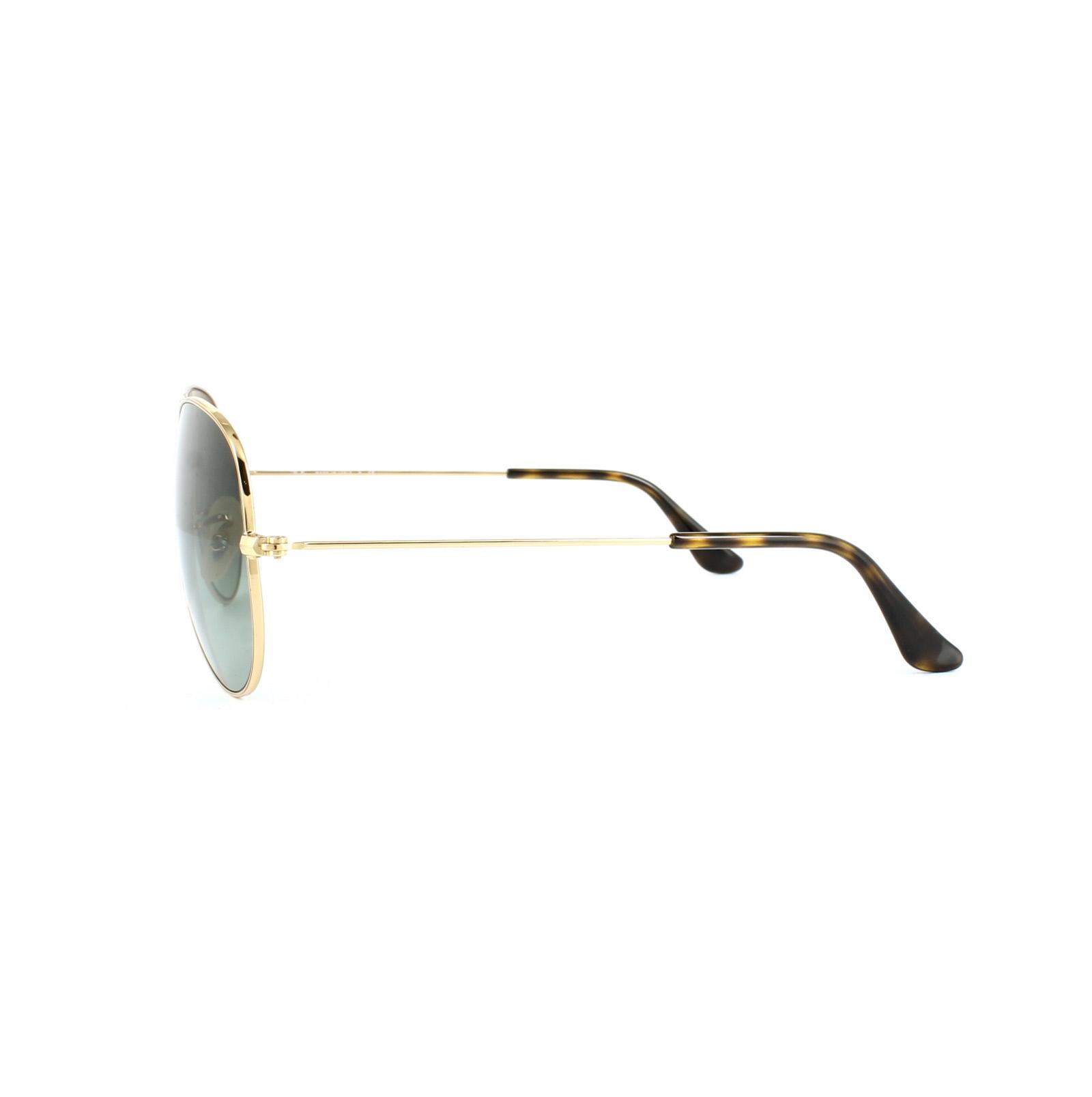 d401f37187 Sentinel Ray-Ban Sunglasses Aviator 3025 181 71 Gold   Havana Grey Gradient