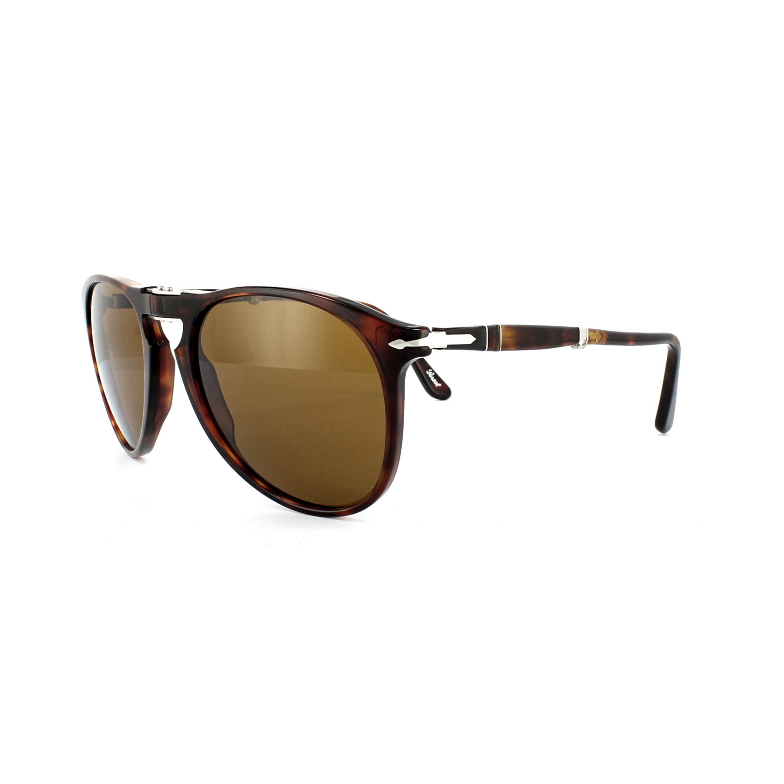 9c5b60aef526f Details about Persol Sunglasses 9714 24 33 Havana Brown