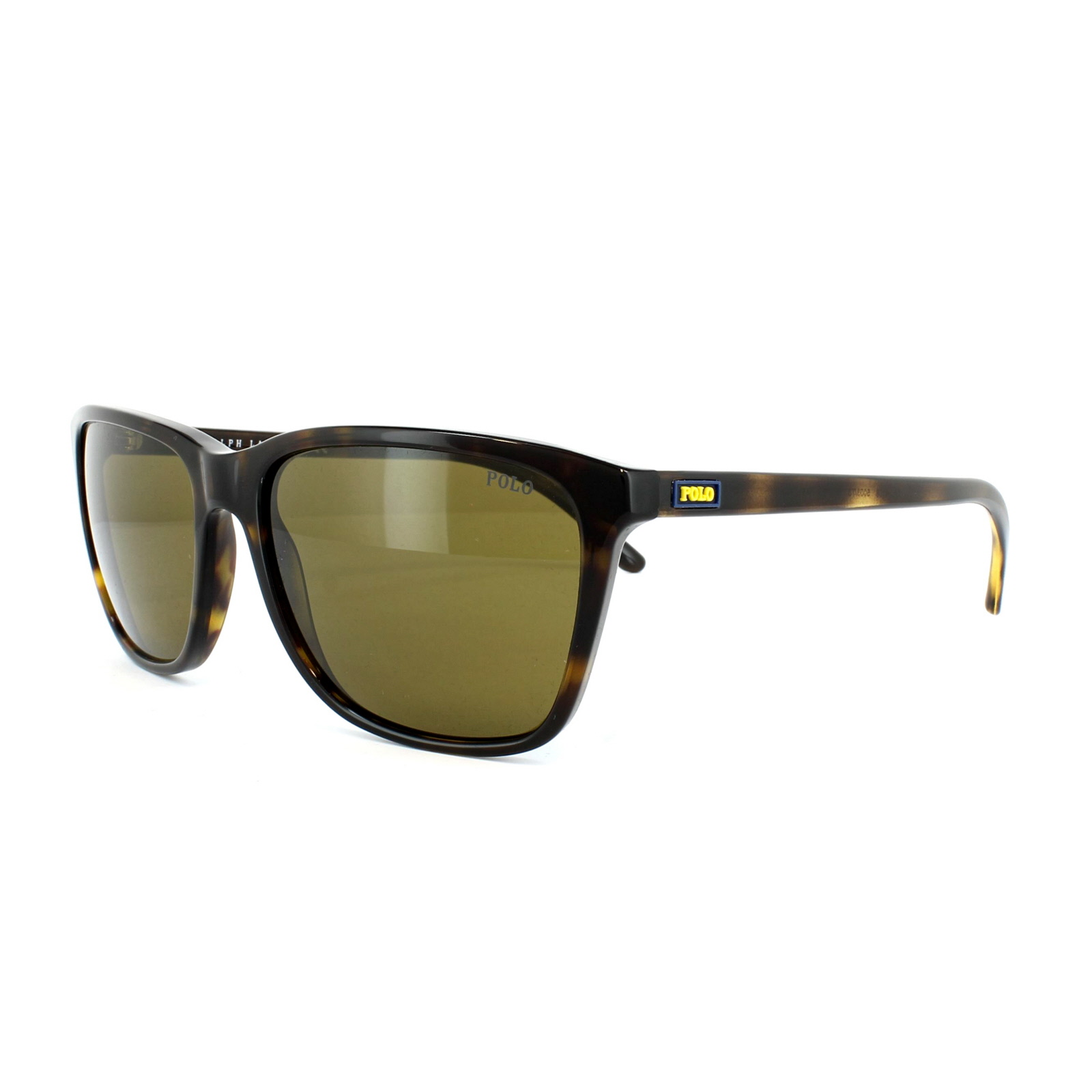 8fad8b56e77 Sentinel Polo Ralph Lauren Sunglasses 4108 500373 Dark Havana Brown