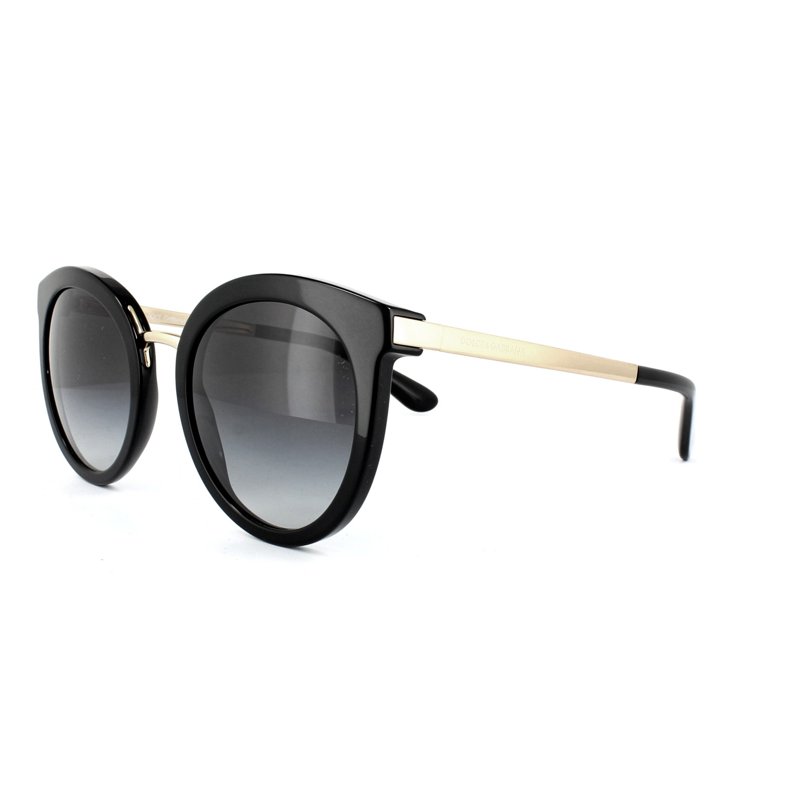 Sentinel Dolce   Gabbana Sunglasses 4268 501 8G Black Grey Gradient 22a4c735f0c9