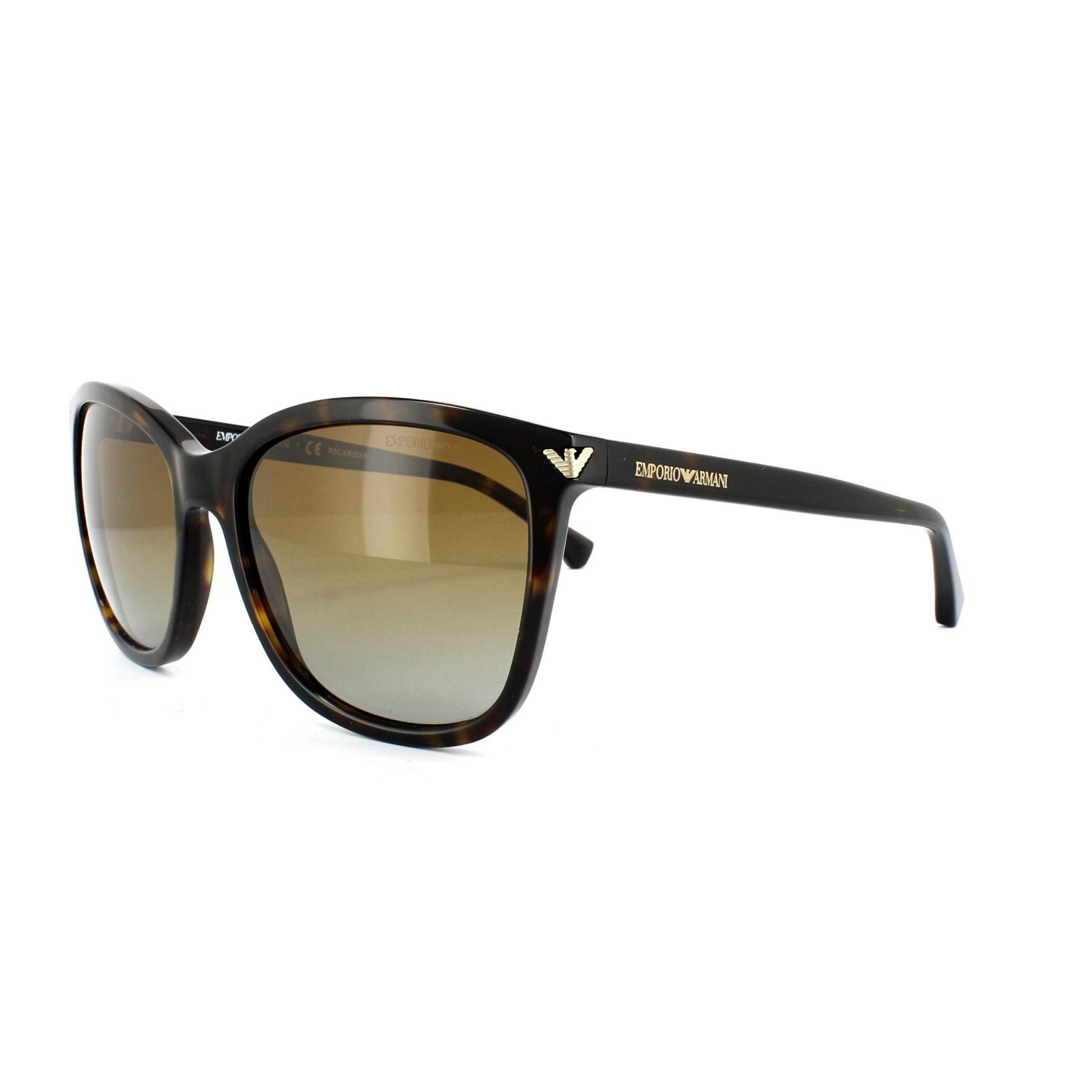 Emporio Armani EA4060 5026/T5 Sonnenbrille polarized tDbKx