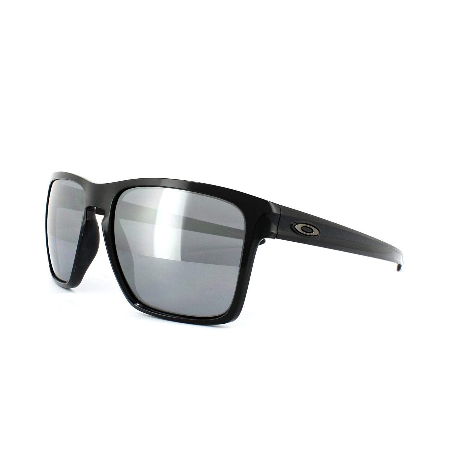 dea0e981ee Sentinel Oakley Sunglasses Sliver XL OO9341-05 Polished Black Black Iridium