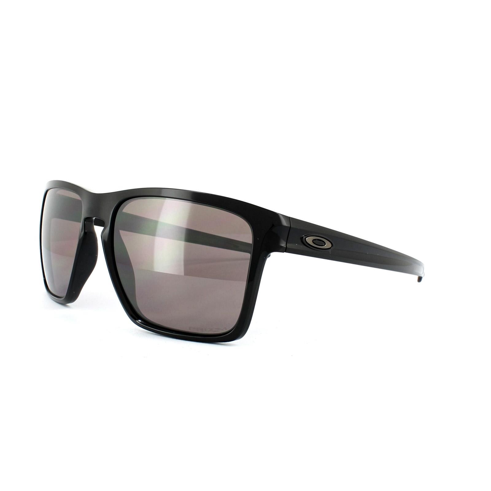 d64e27ff2c0 Sentinel Oakley Sunglasses Sliver XL OO9341-06 Polished Black Prizm Daily  Polarized