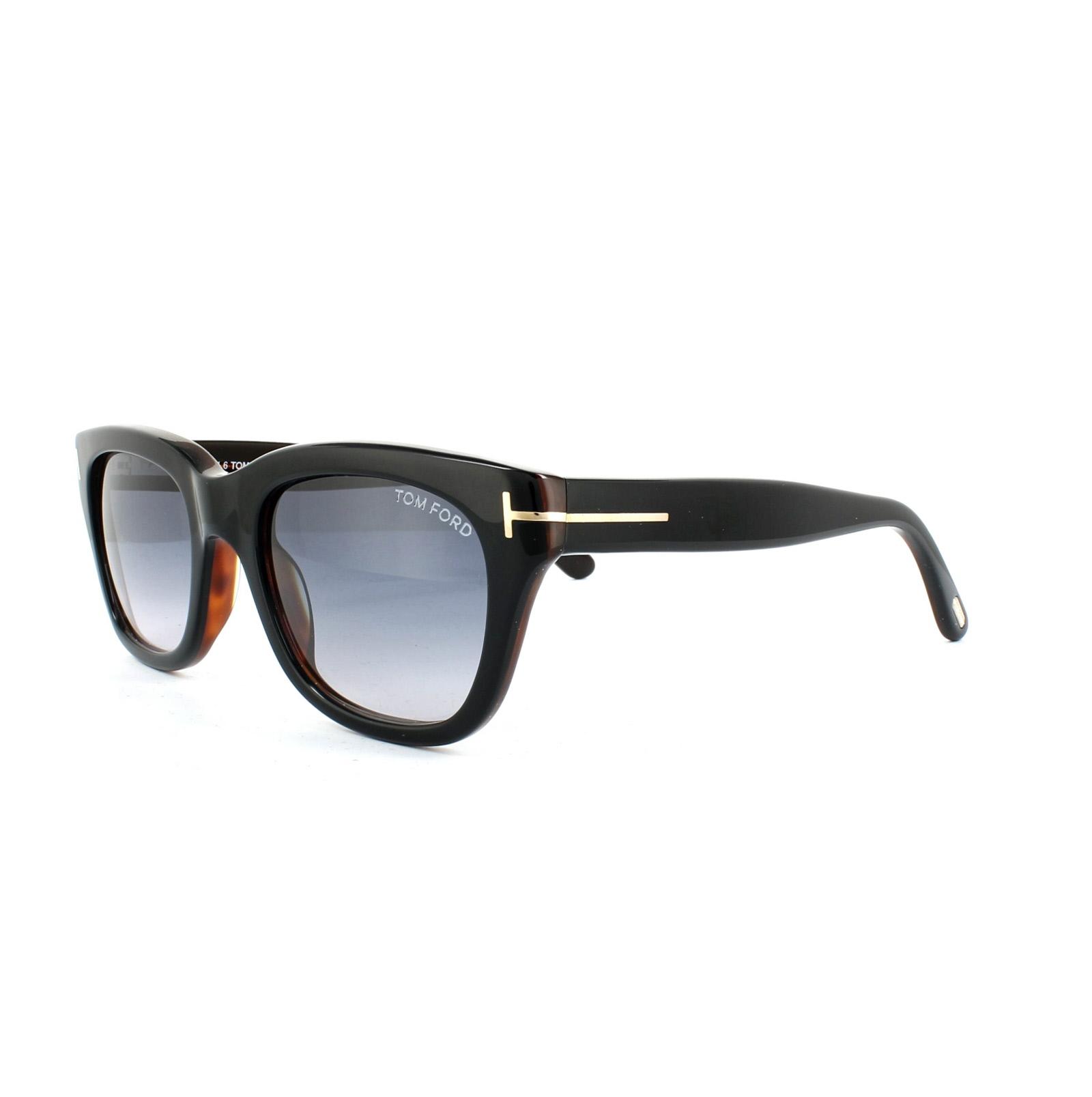 b39814d66e Sentinel Tom Ford Sunglasses 0237 Snowdon 05B Black   Brown Smoke Grey  Gradient