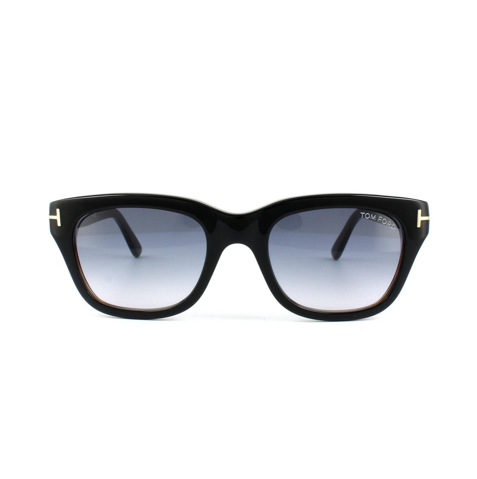 f2d18f5e199 Sentinel Tom Ford Sunglasses 0237 Snowdon 05B Black   Brown Smoke Grey  Gradient