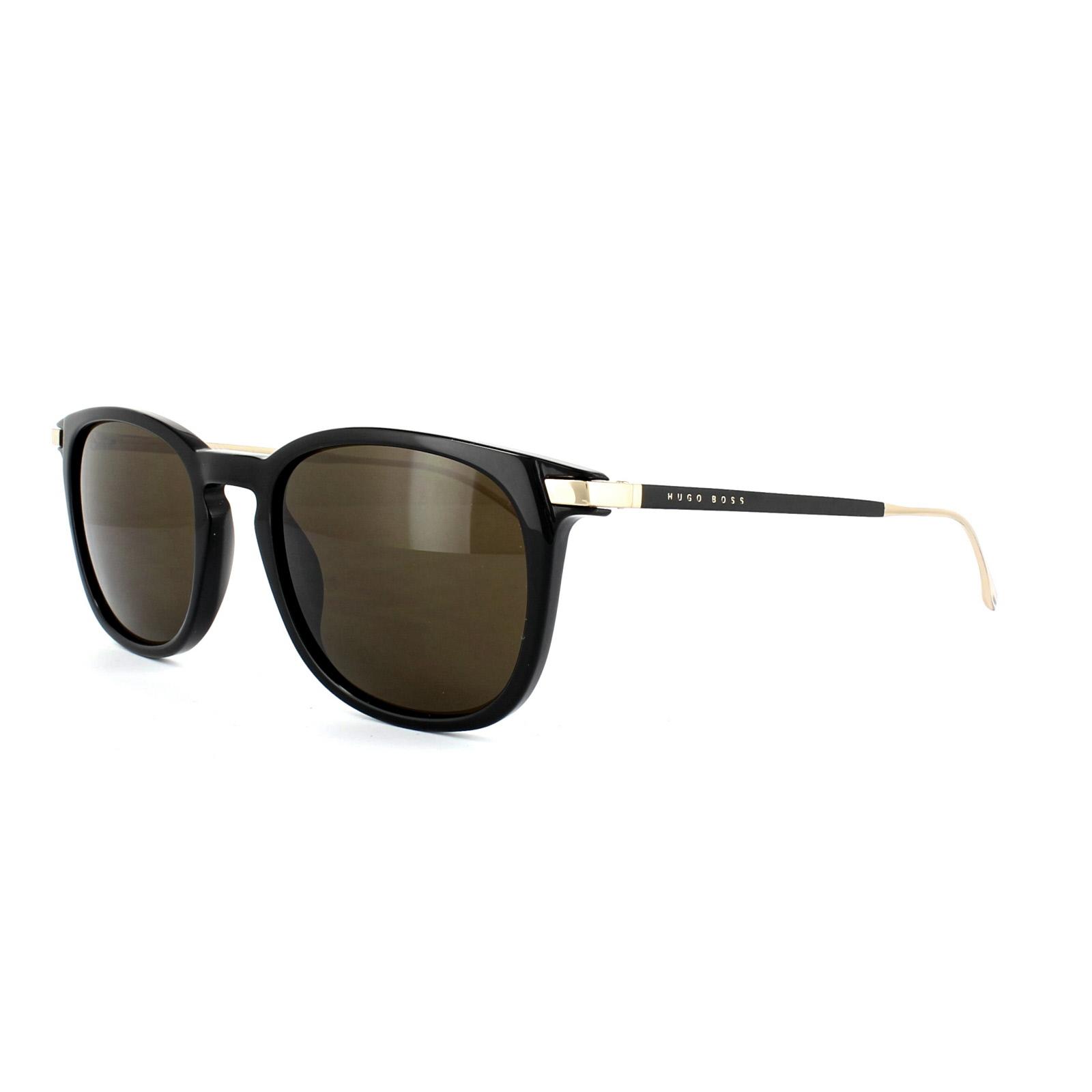 Boss Boss 0783/S 263 51 black semi matte black gold / brown nQyEYJ