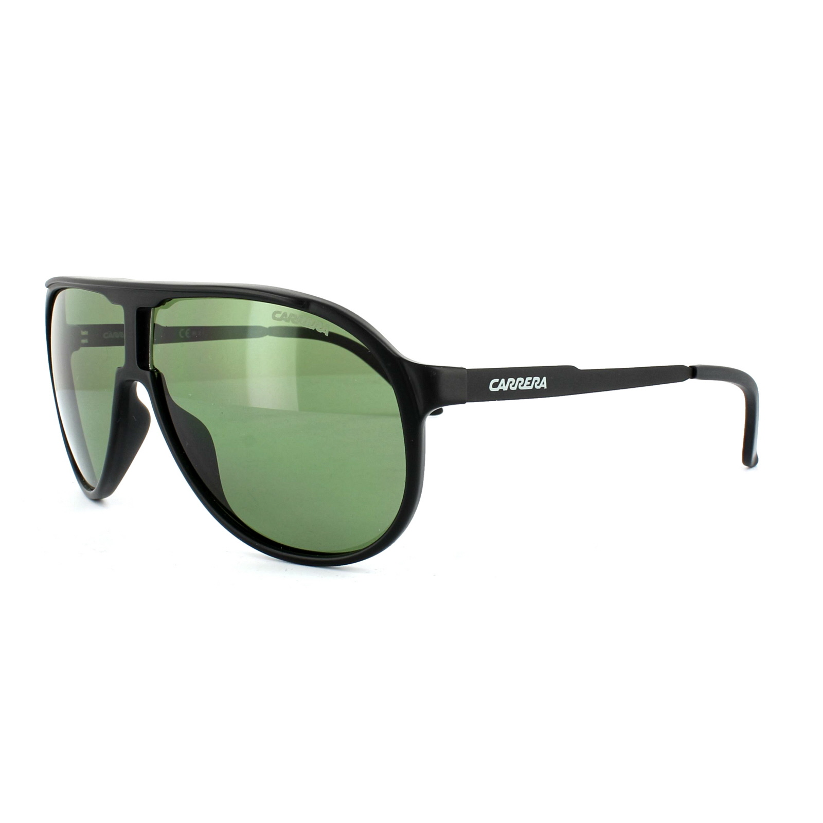 343b0a1fba8 Sentinel Carrera Sunglasses New Champion GUY DJ Matt Black Green 62mm