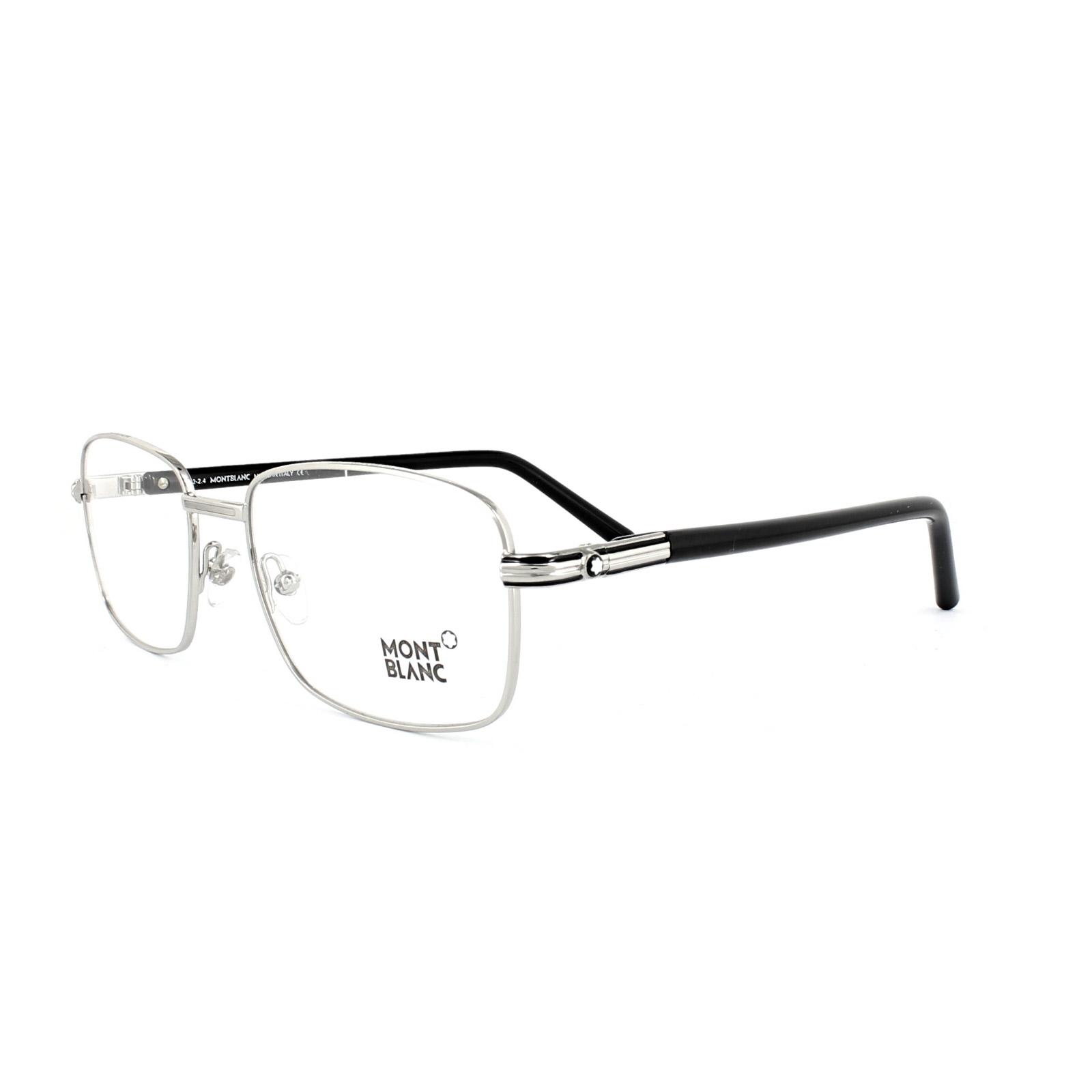 4cca6c4f659 Mont Blanc Glasses Frames 0530 016 Shiny Palladium Black. Mont Blanc  Eyeglasses Montblanc Mb298 Mb 298 Color ...