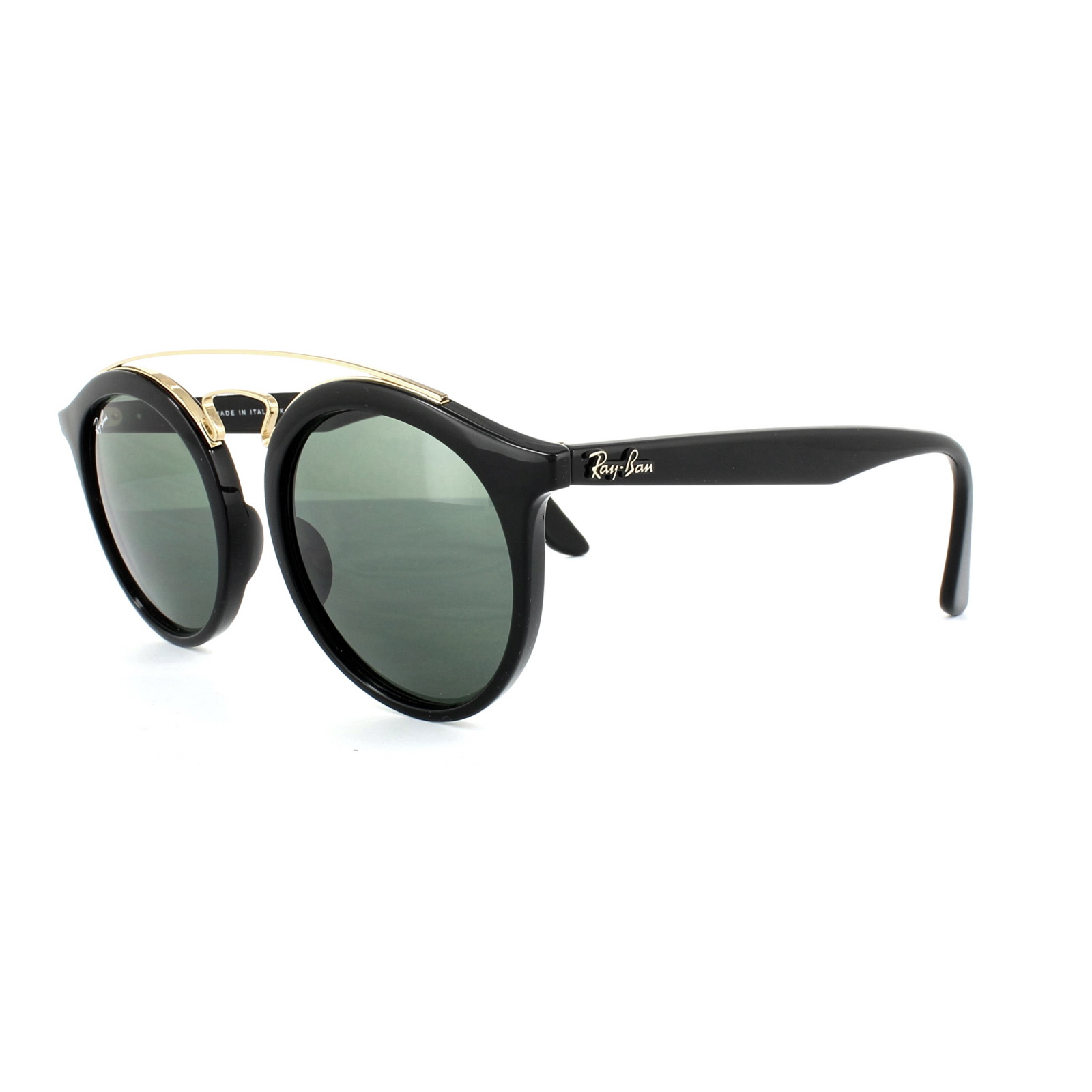 f5609eb943 Sentinel Thumbnail 1. Sentinel Ray-Ban Sunglasses Gatsby 4256 601 71 Black  Green Large 49mm